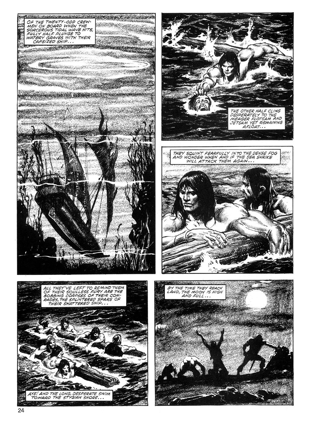 The Savage Sword Of Conan Issue #89 #90 - English 24
