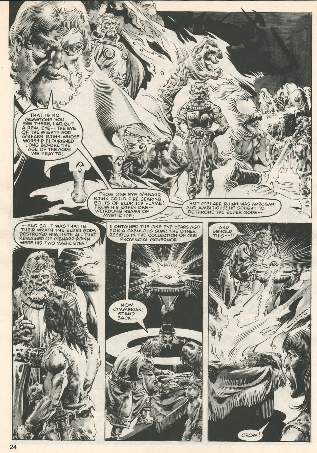 The Savage Sword Of Conan Issue #107 #108 - English 24