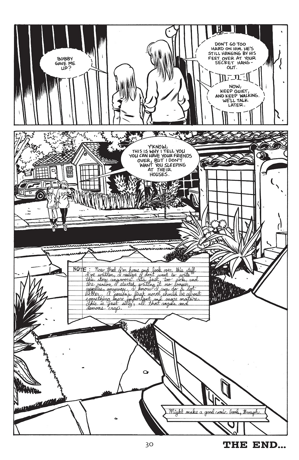 Stray Bullets Issue #15 #15 - English 32