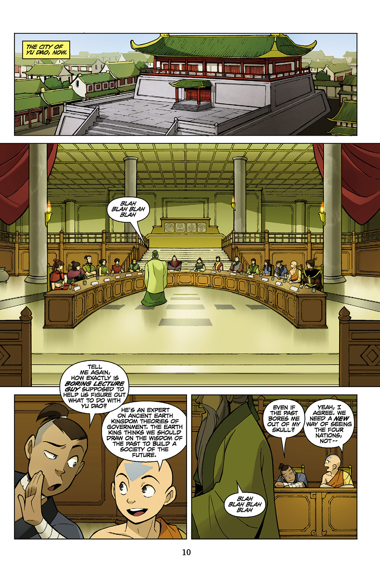 Read online Nickelodeon Avatar: The Last Airbender - The Search comic -  Issue # Part 1 - 11