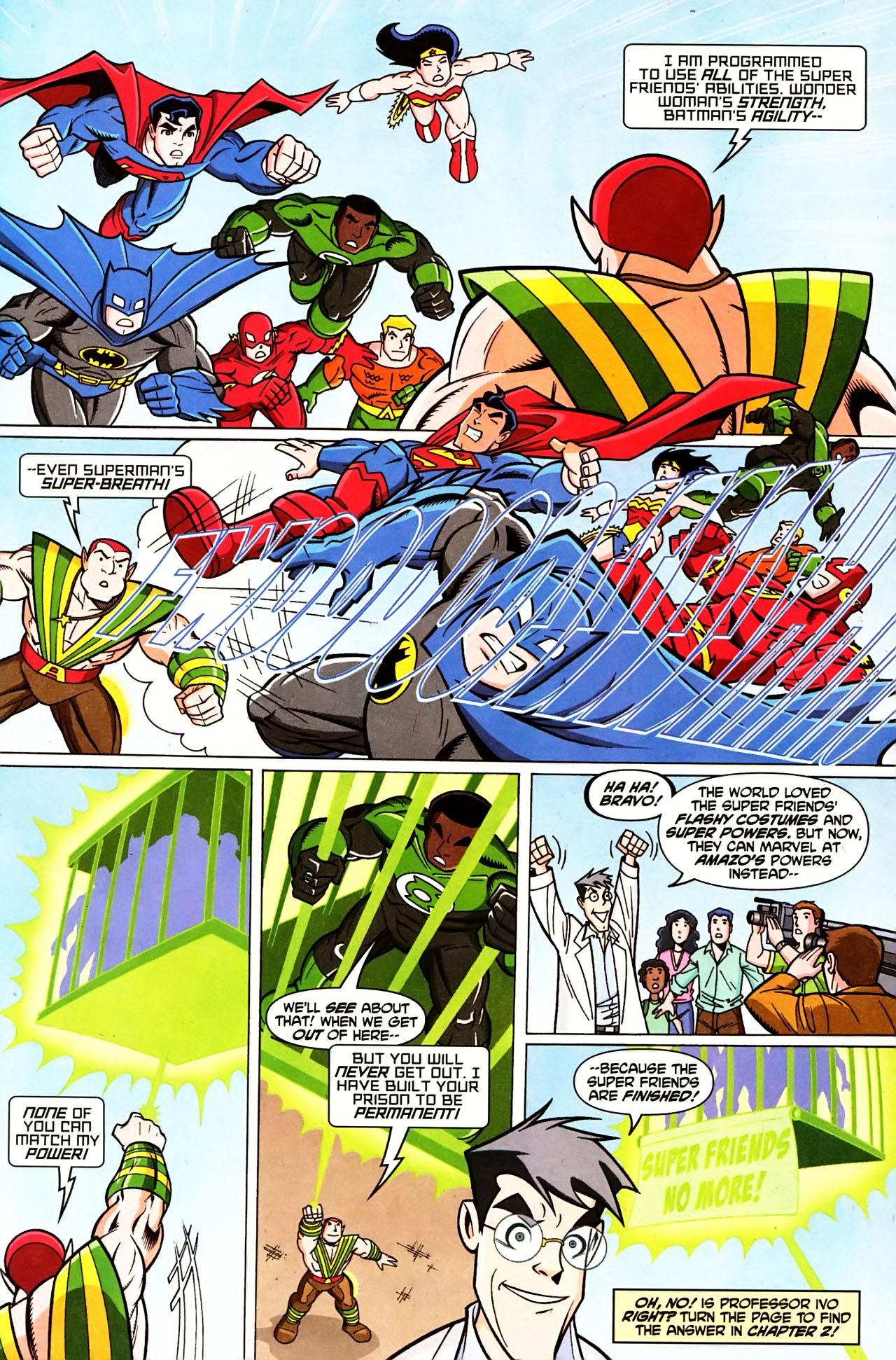Super Friends #1 #29 - English 9