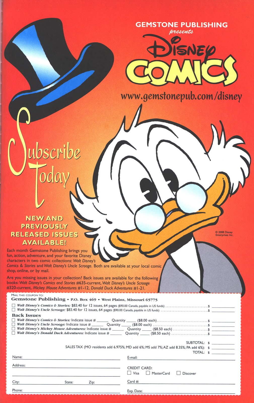 Uncle Scrooge (1953) Issue #382 #382 - English 65