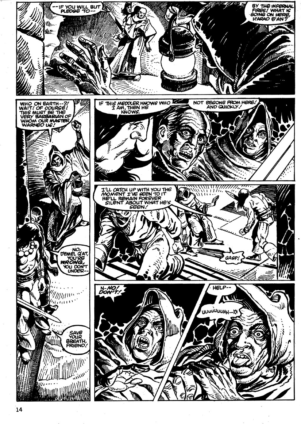 The Savage Sword Of Conan Issue #86 #87 - English 14