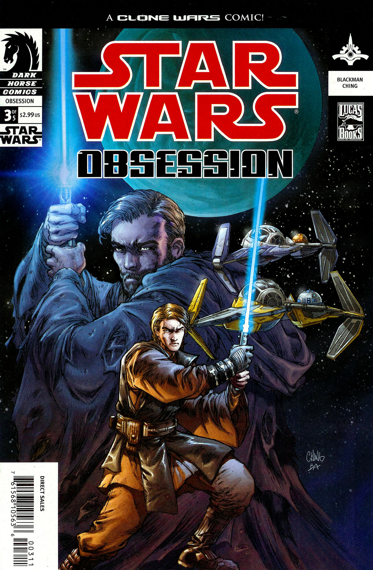 Star Wars: Obsession issue 3 - Page 1