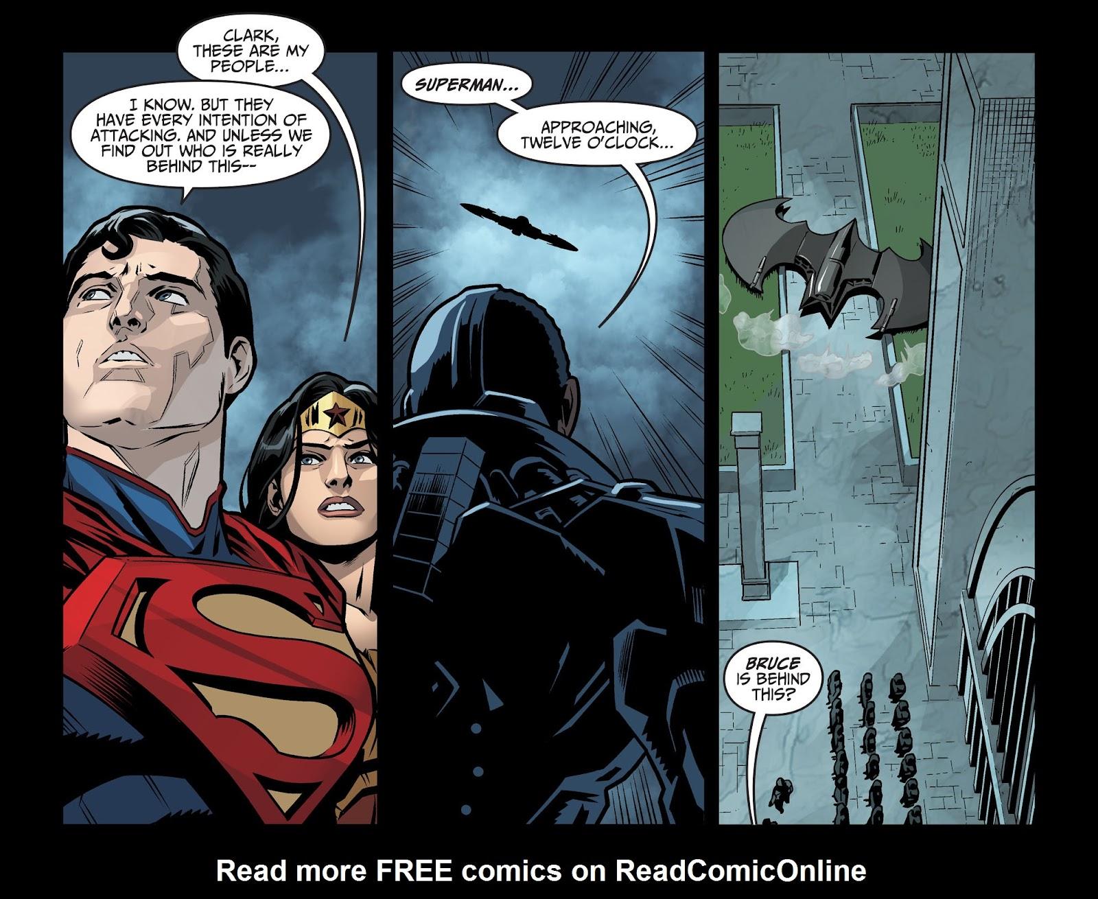 Injustice: Gods Among Us Year Four Issue #6 #7 - English 21