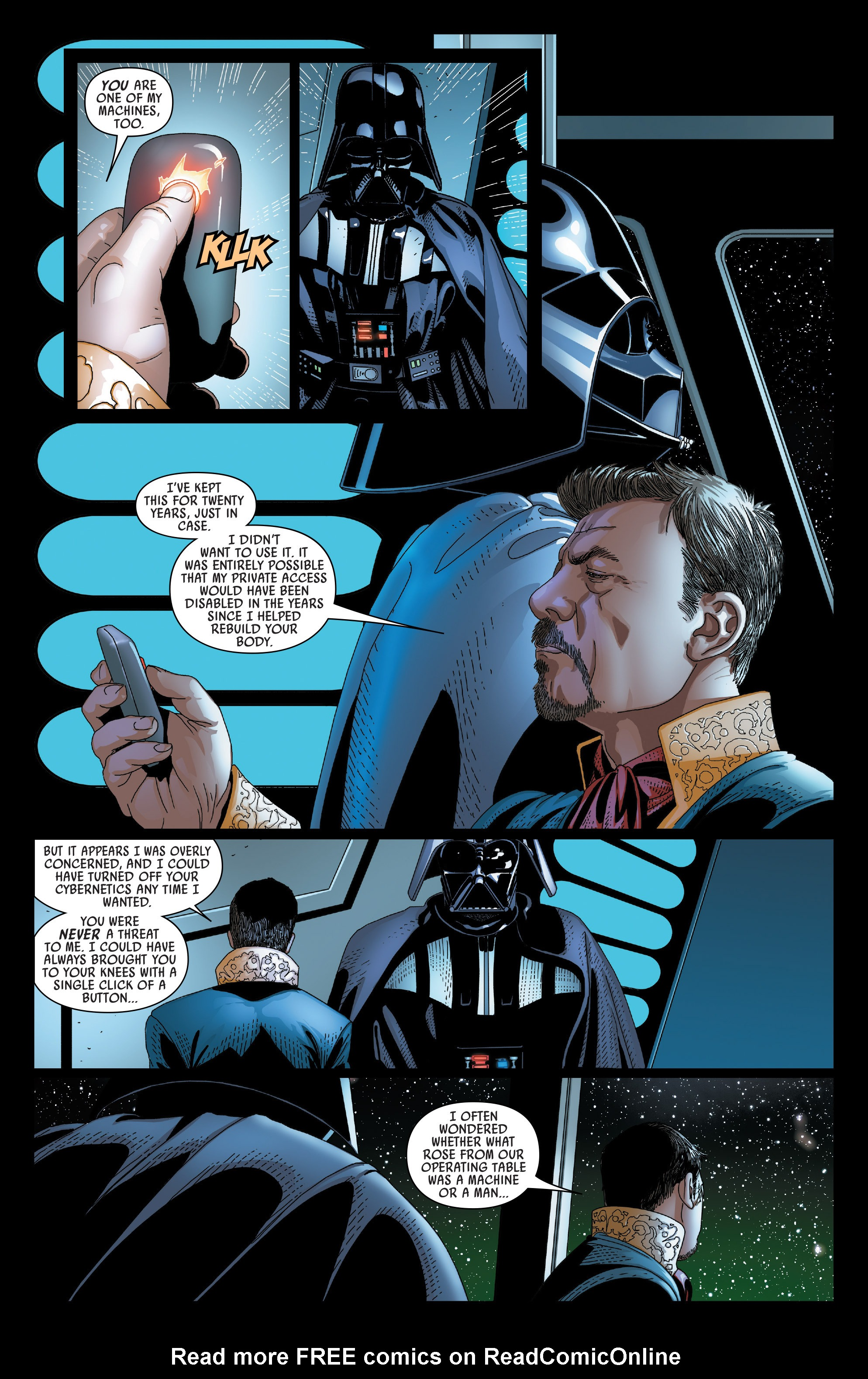Read online Darth Vader comic -  Issue #23 - 20