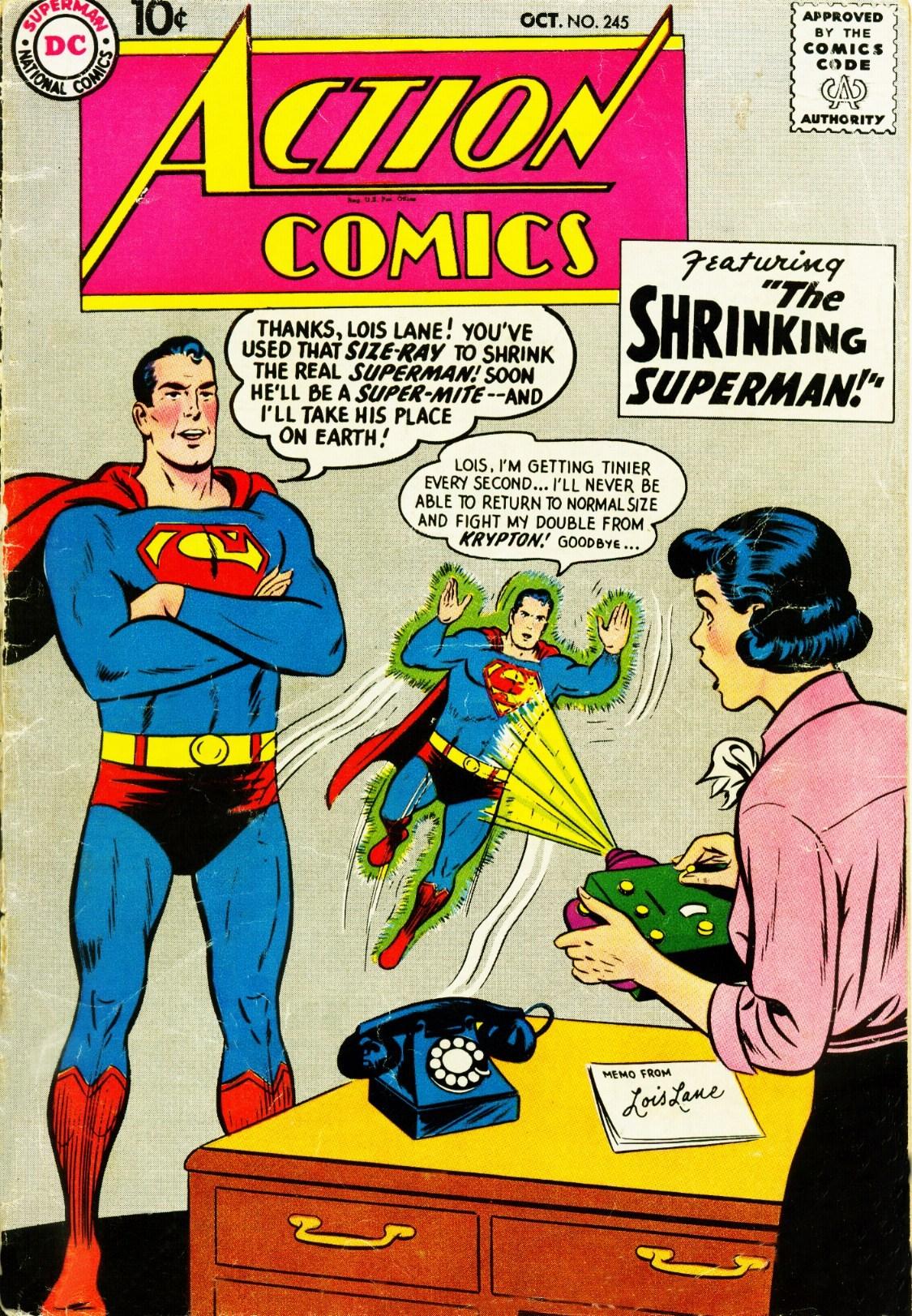 Action Comics (1938) 245 Page 1