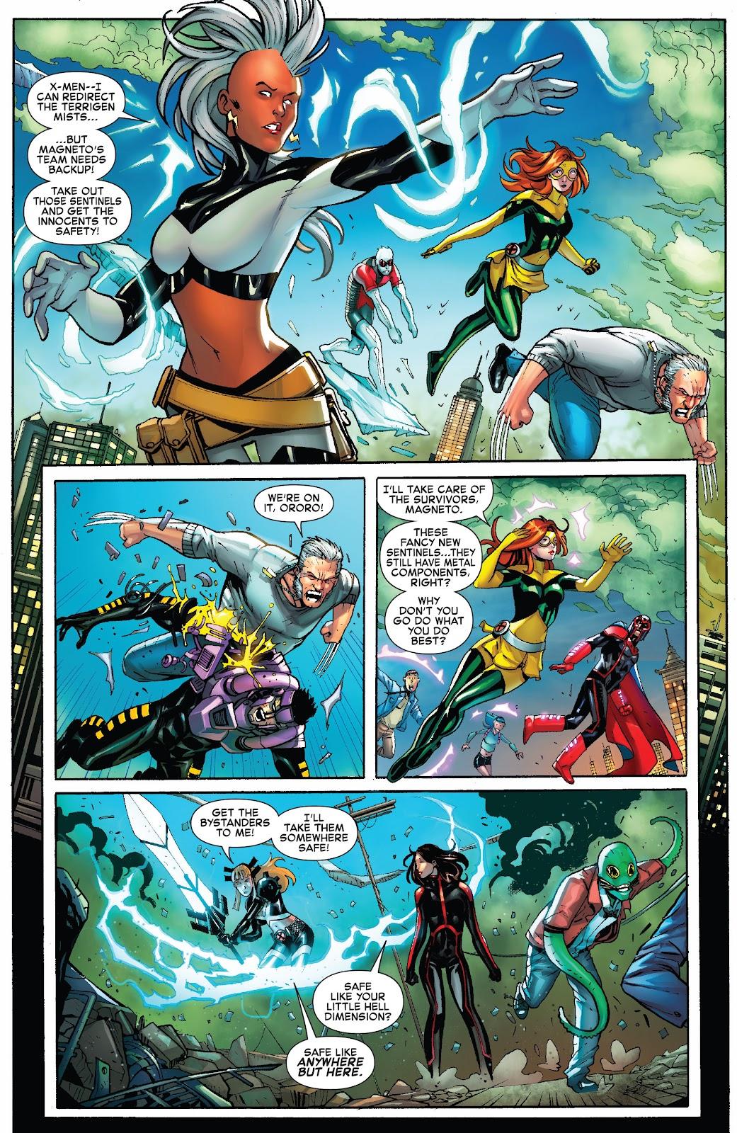 Civil War II: X-Men Issue #1 #1 - English 15