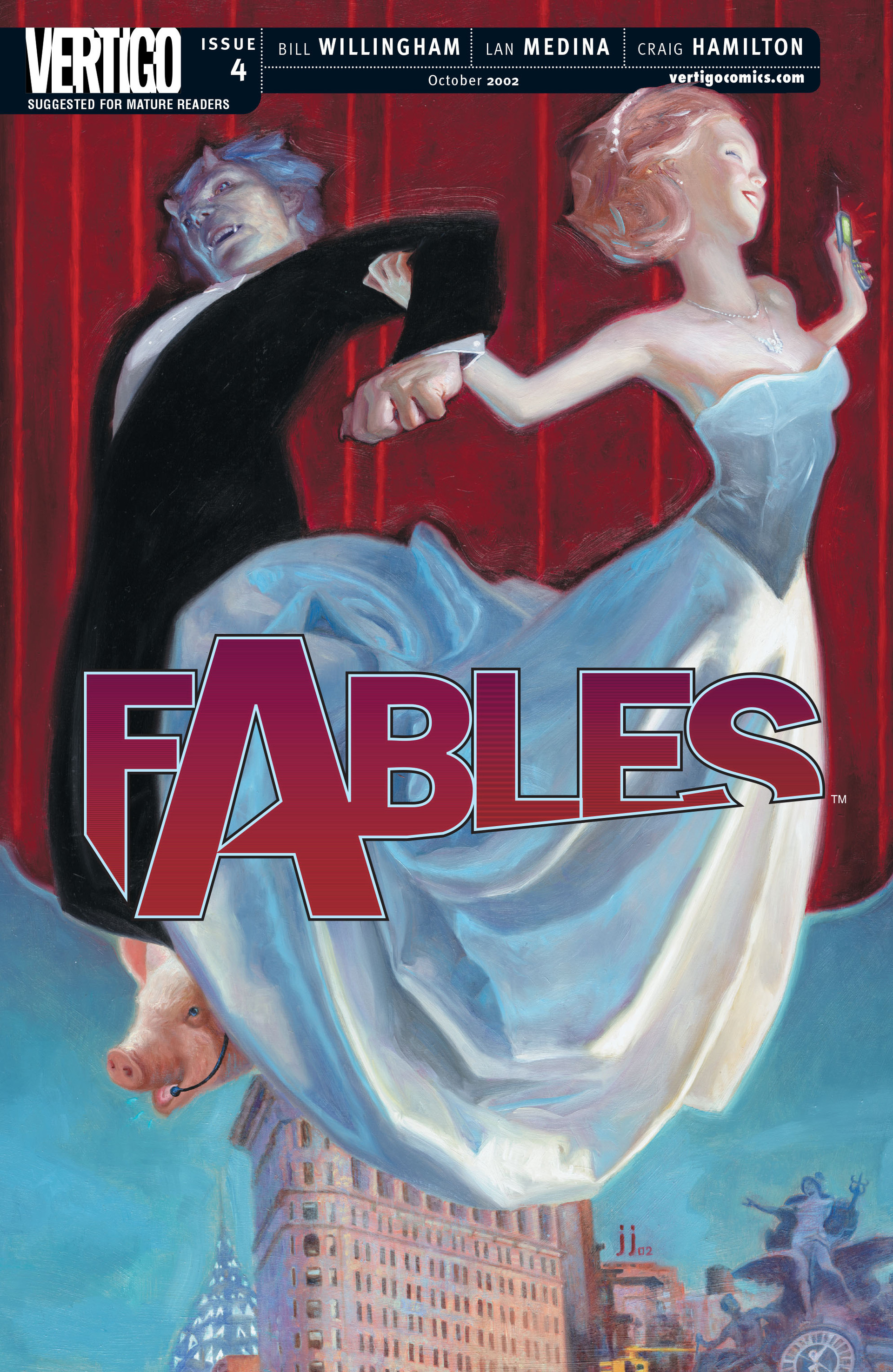 Fables 4 Page 1