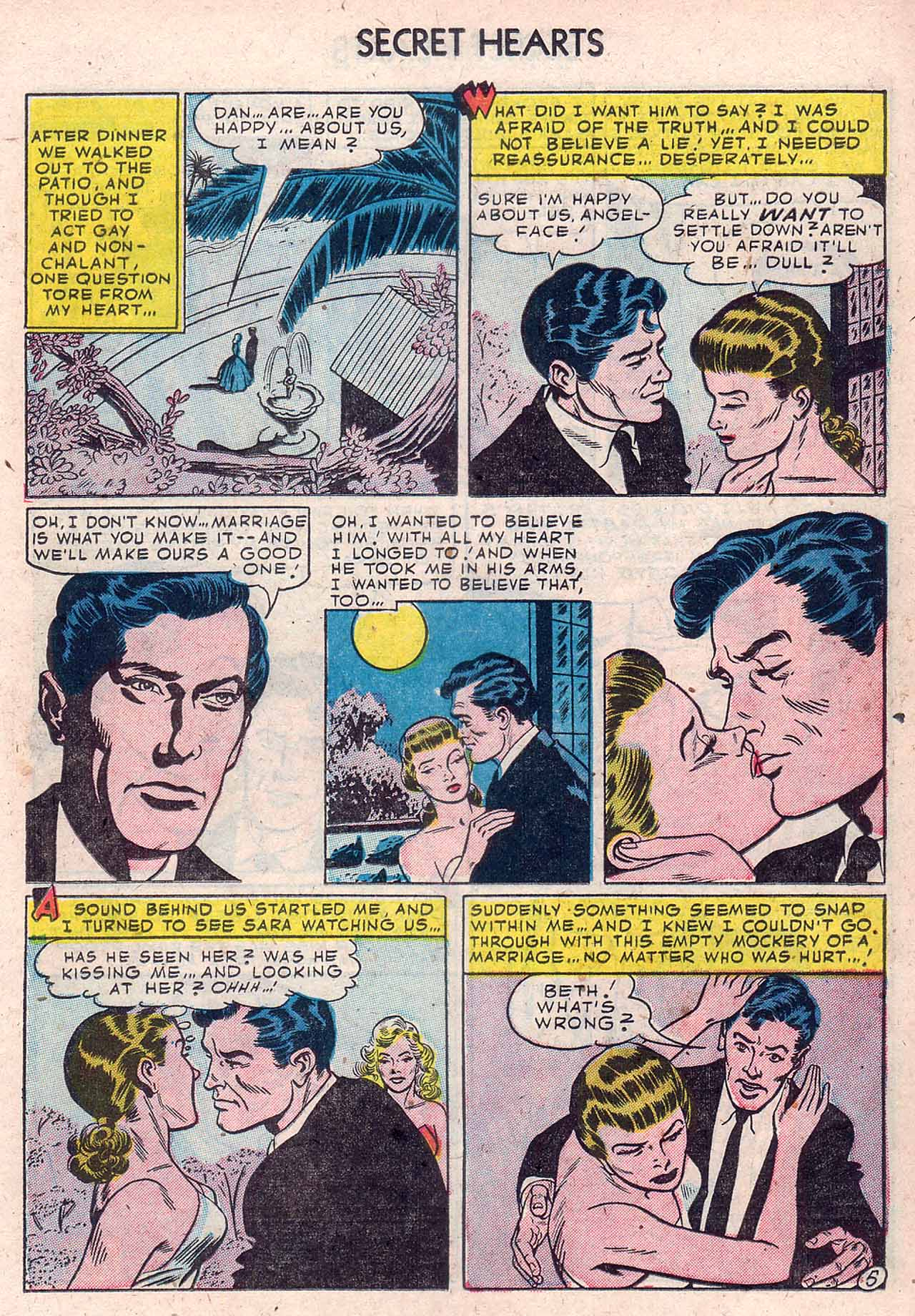 Read online Secret Hearts comic -  Issue #12 - 15