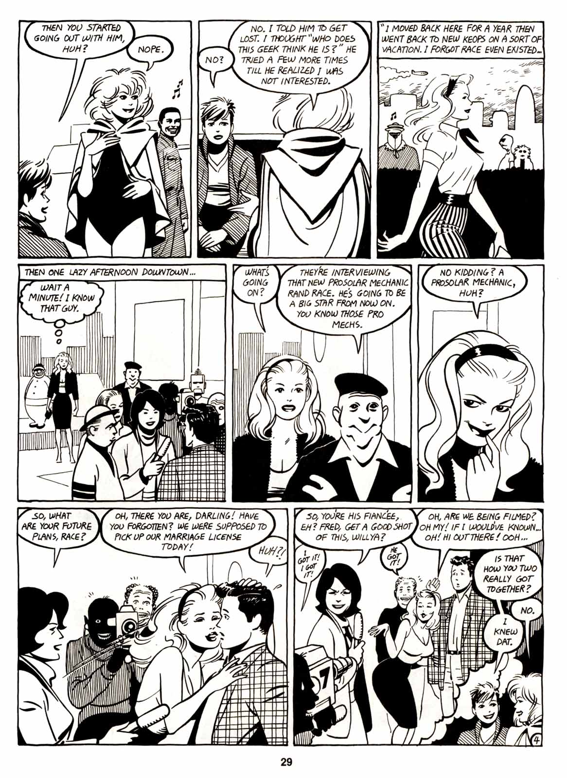 Love and Rockets (1982) Issue #6 #5 - English 31