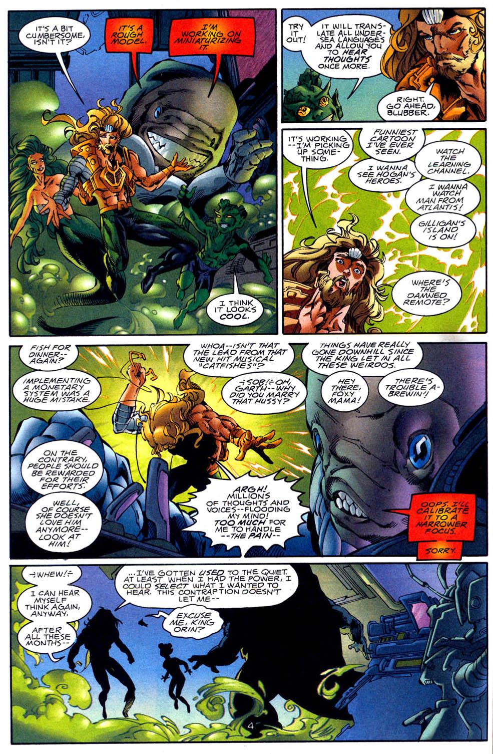 Aquaman (1994) Issue #62 #68 - English 5