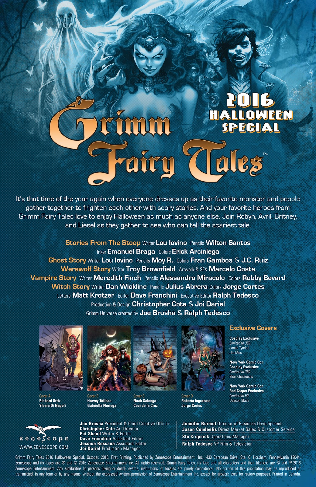 Grimm Fairy Tales (2005) _Special - Halloween Special #2 - English 2