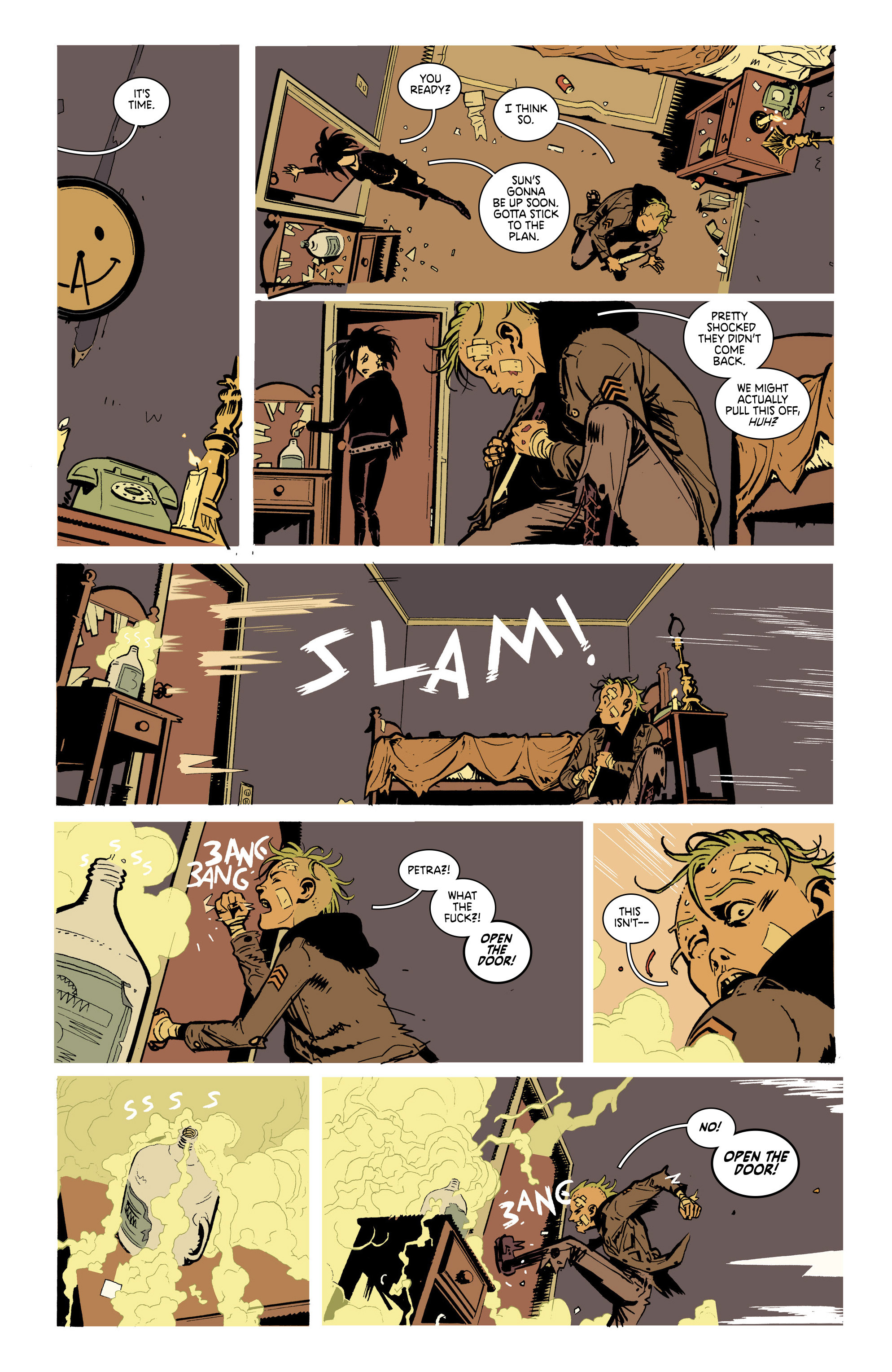 Read online Deadly Class comic -  Issue #21 - 15