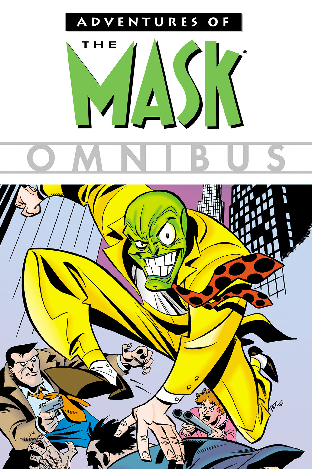 Adventures Of The Mask Omnibus Full Page 1