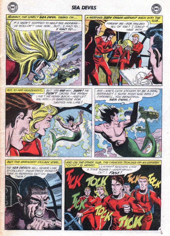 Read online Sea Devils comic -  Issue #14 - 31