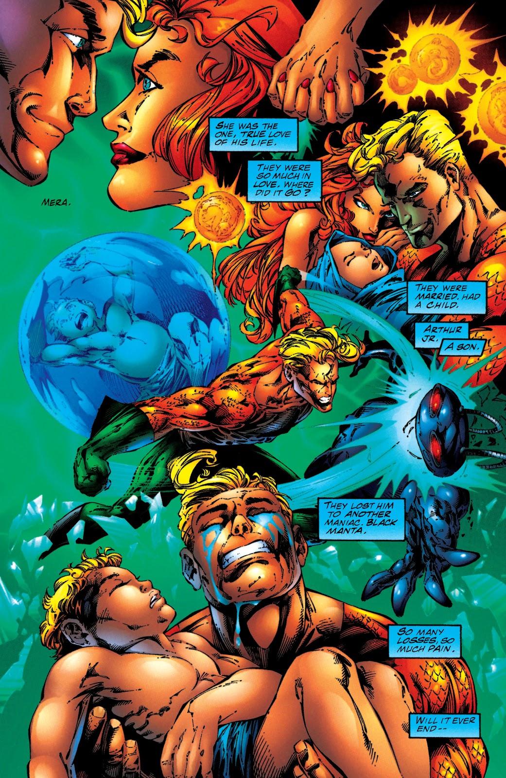 Aquaman (1994) Issue #50 #56 - English 7
