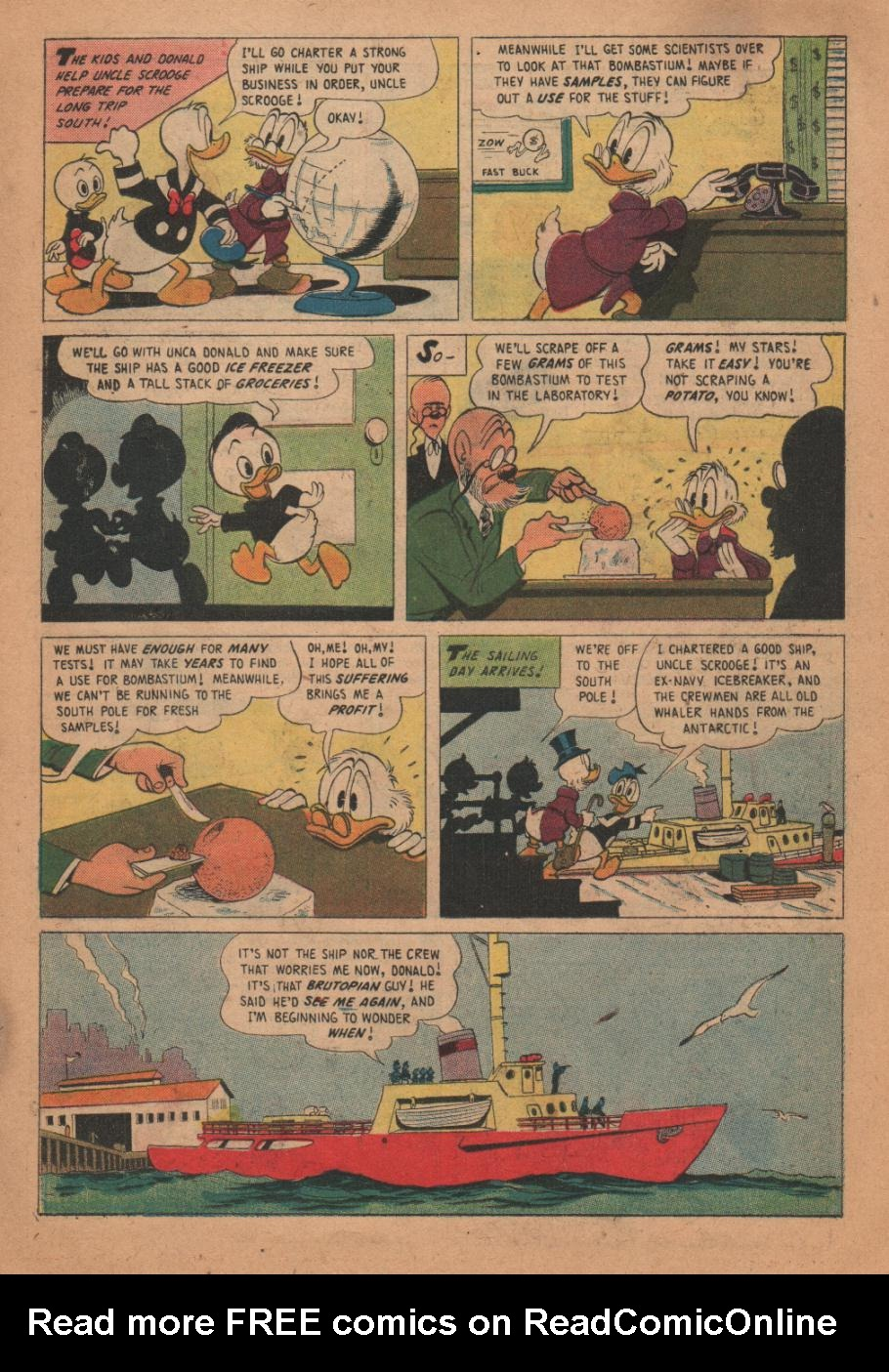 Uncle Scrooge (1953) Issue #17 #17 - English 11