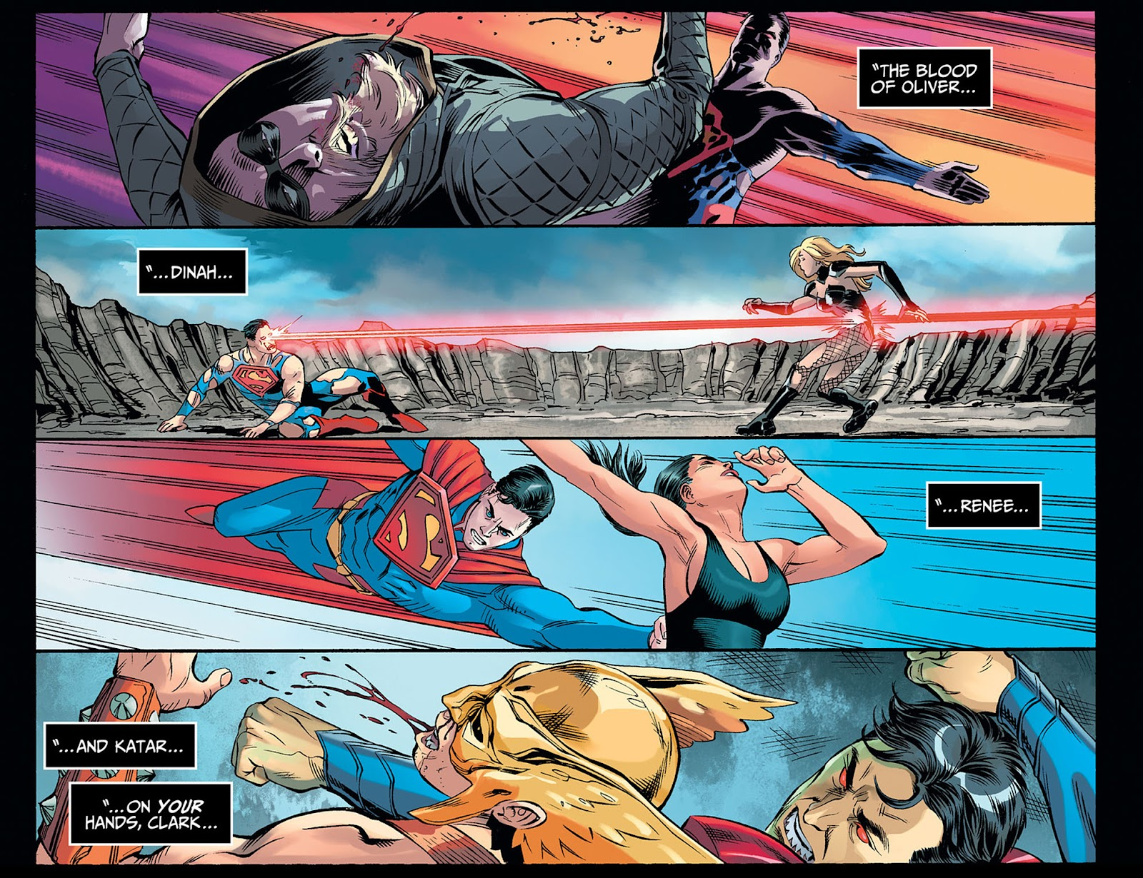Injustice: Gods Among Us: Year Five Issue #40 #41 - English 10