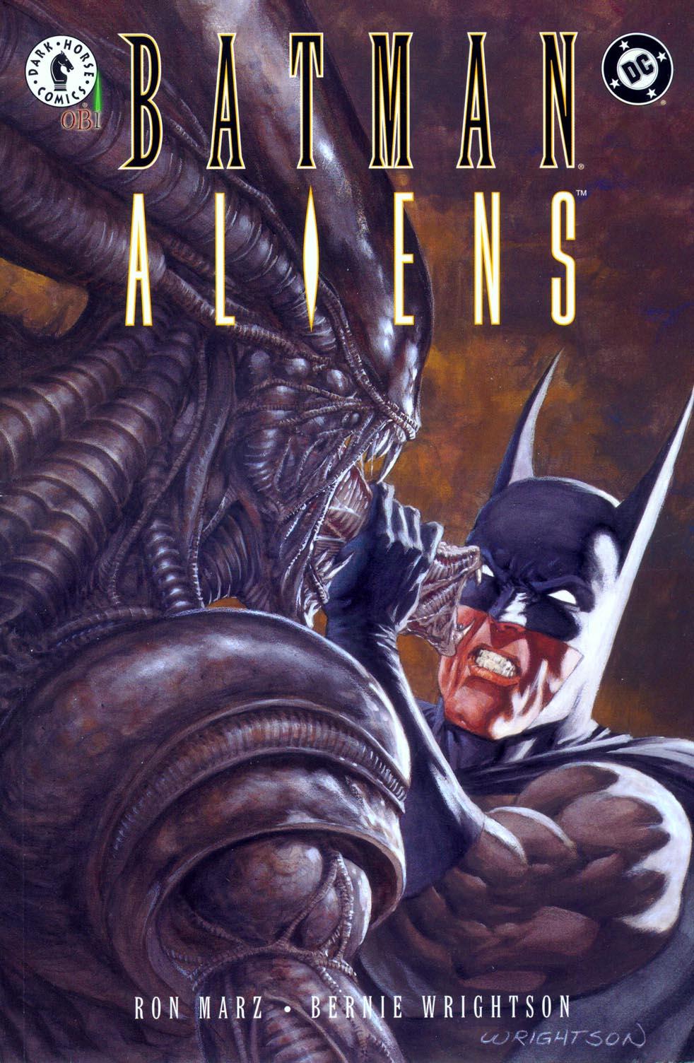 Batman/Aliens 2 Page 1