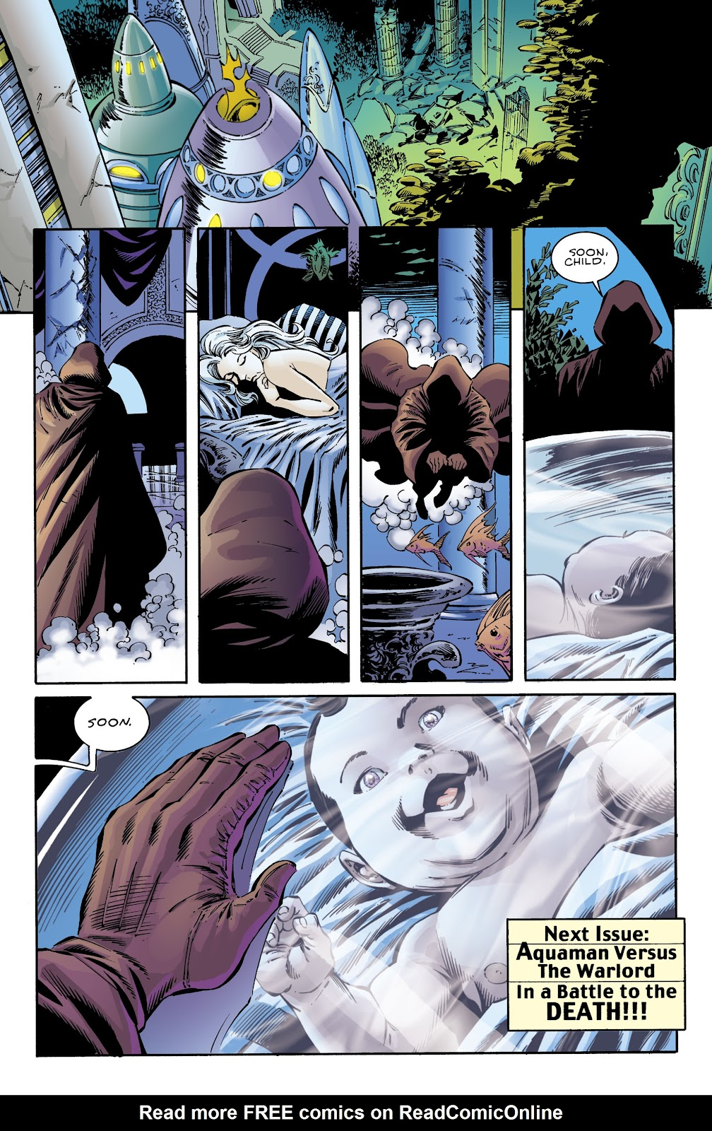 Aquaman (1994) Issue #72 #78 - English 21