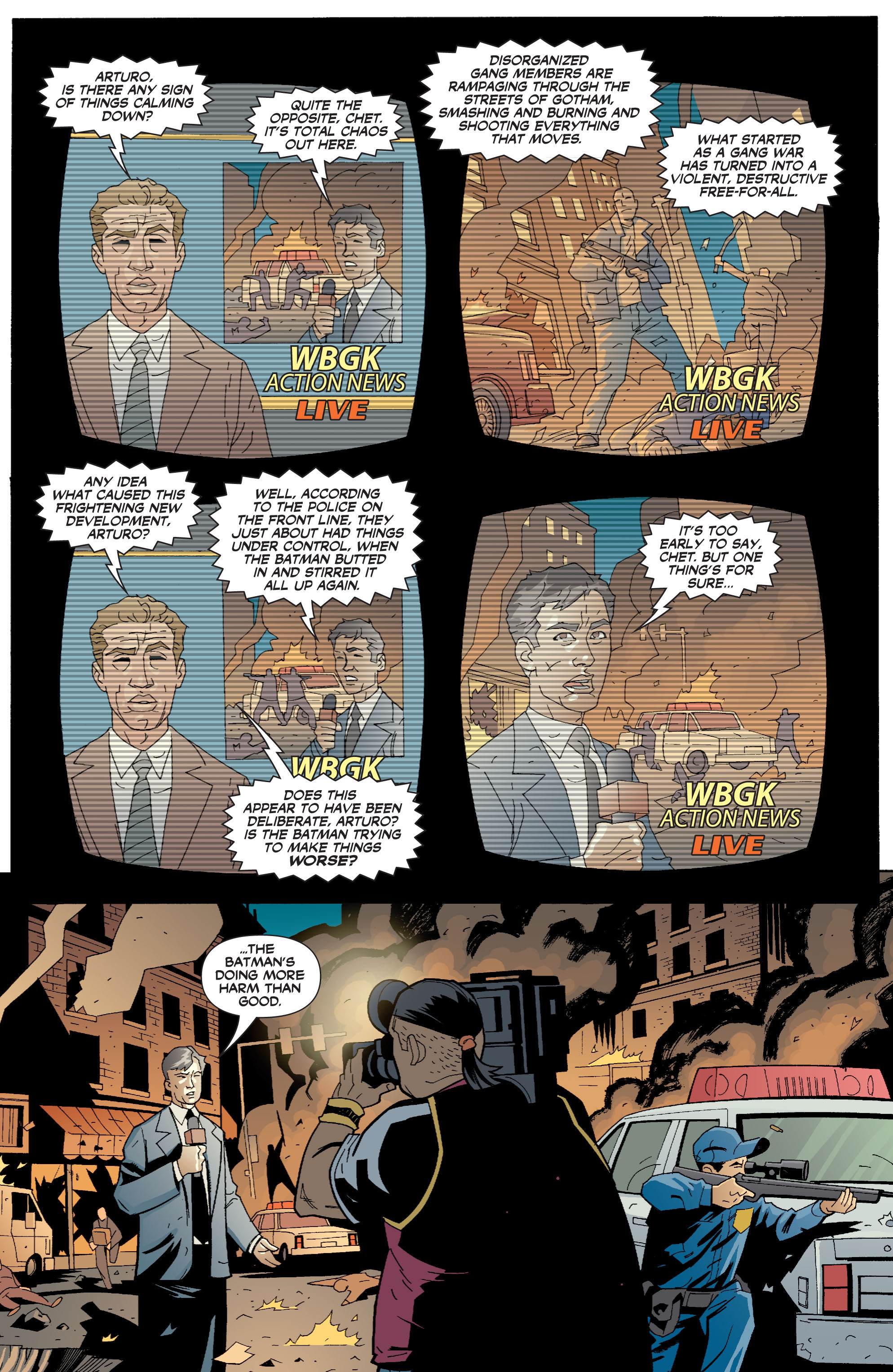 Read online Batman: War Games comic -  Issue #6 - 2