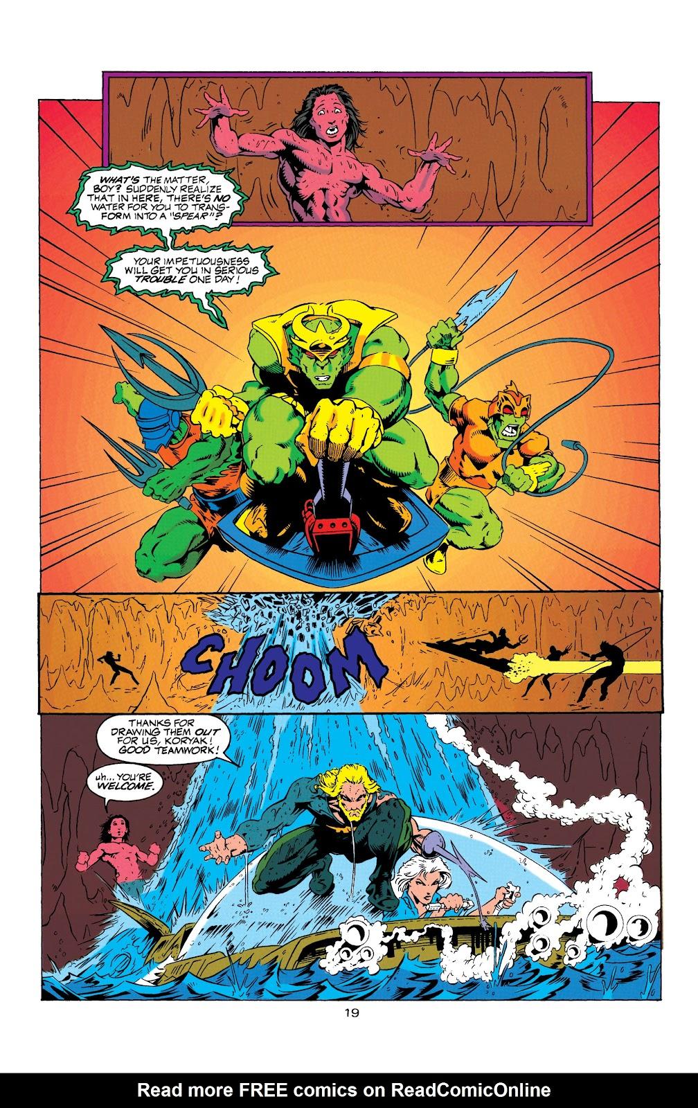 Aquaman (1994) Issue #7 #13 - English 20