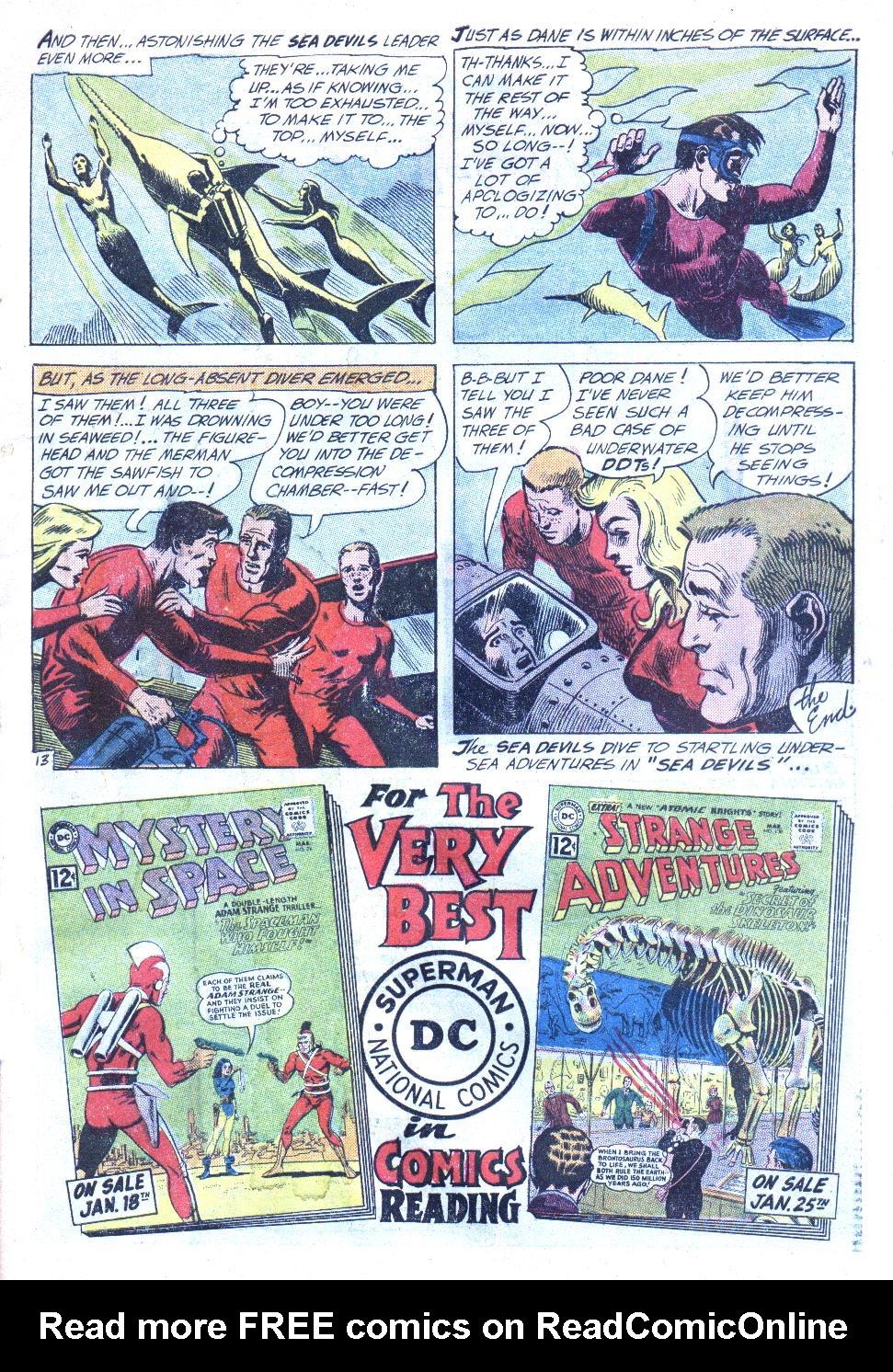 Read online Sea Devils comic -  Issue #4 - 16