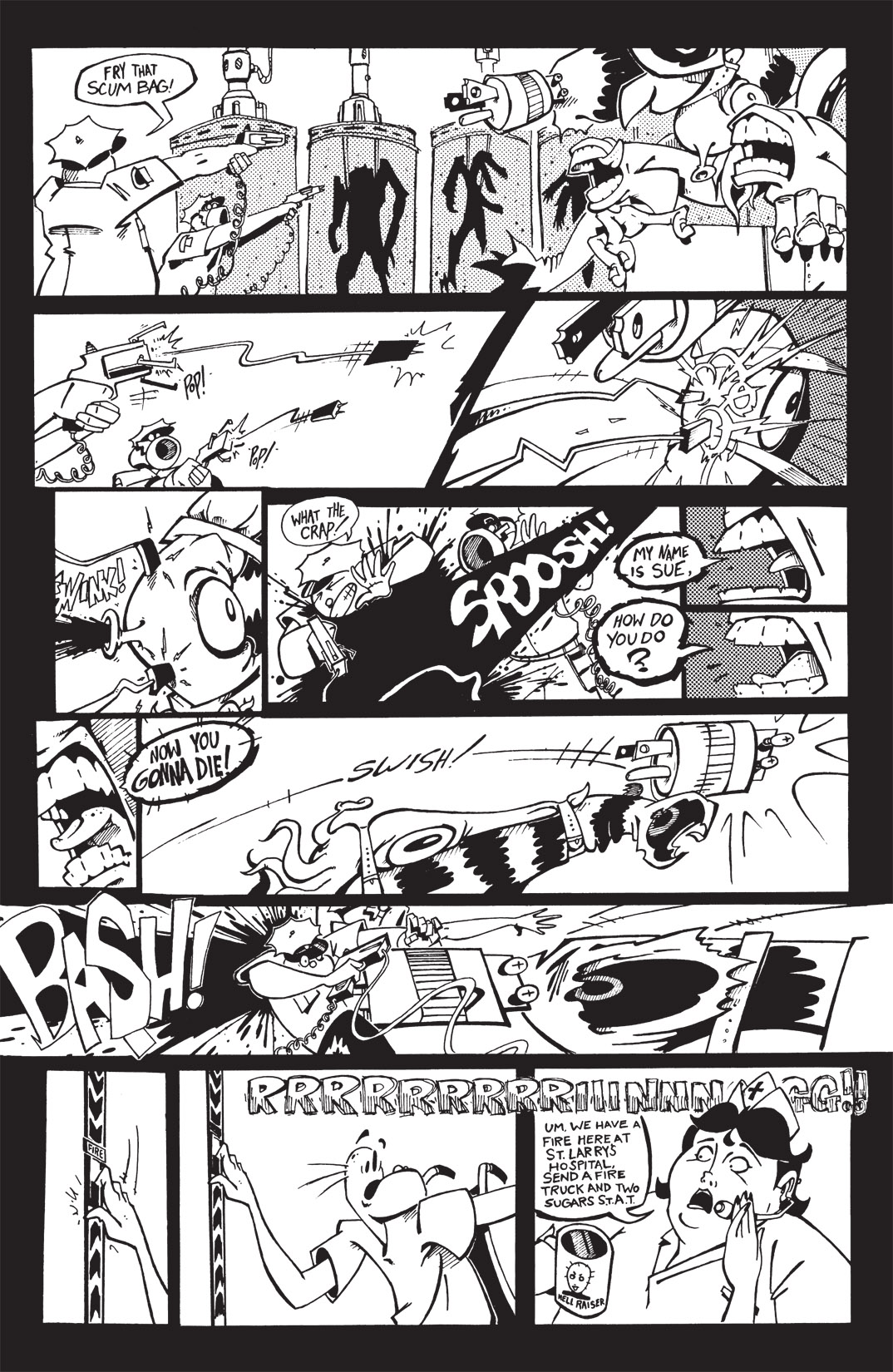 Read online Scud: The Disposable Assassin: The Whole Shebang comic -  Issue # TPB (Part 1) - 152