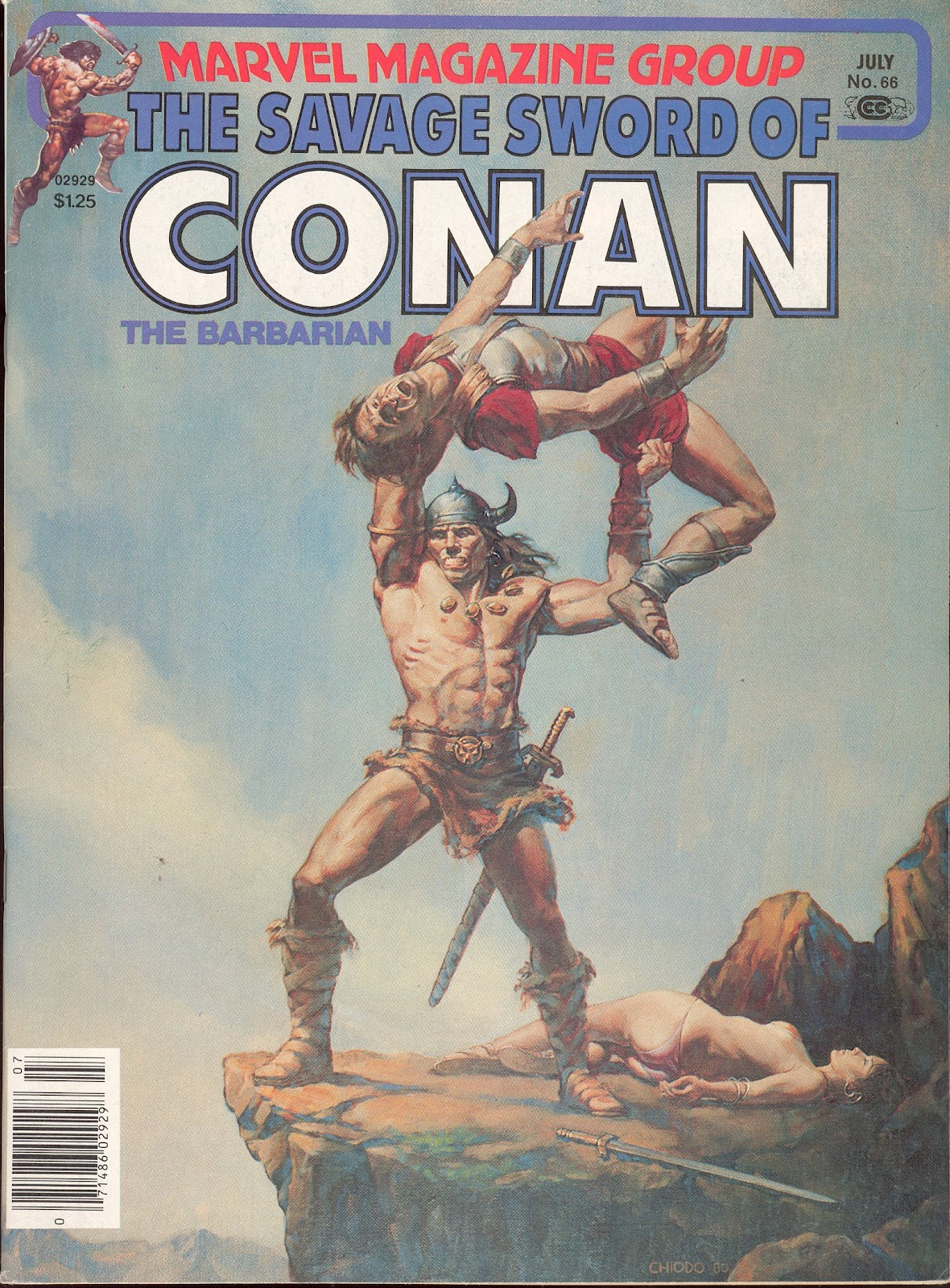 The Savage Sword Of Conan Issue #66 #67 - English 1