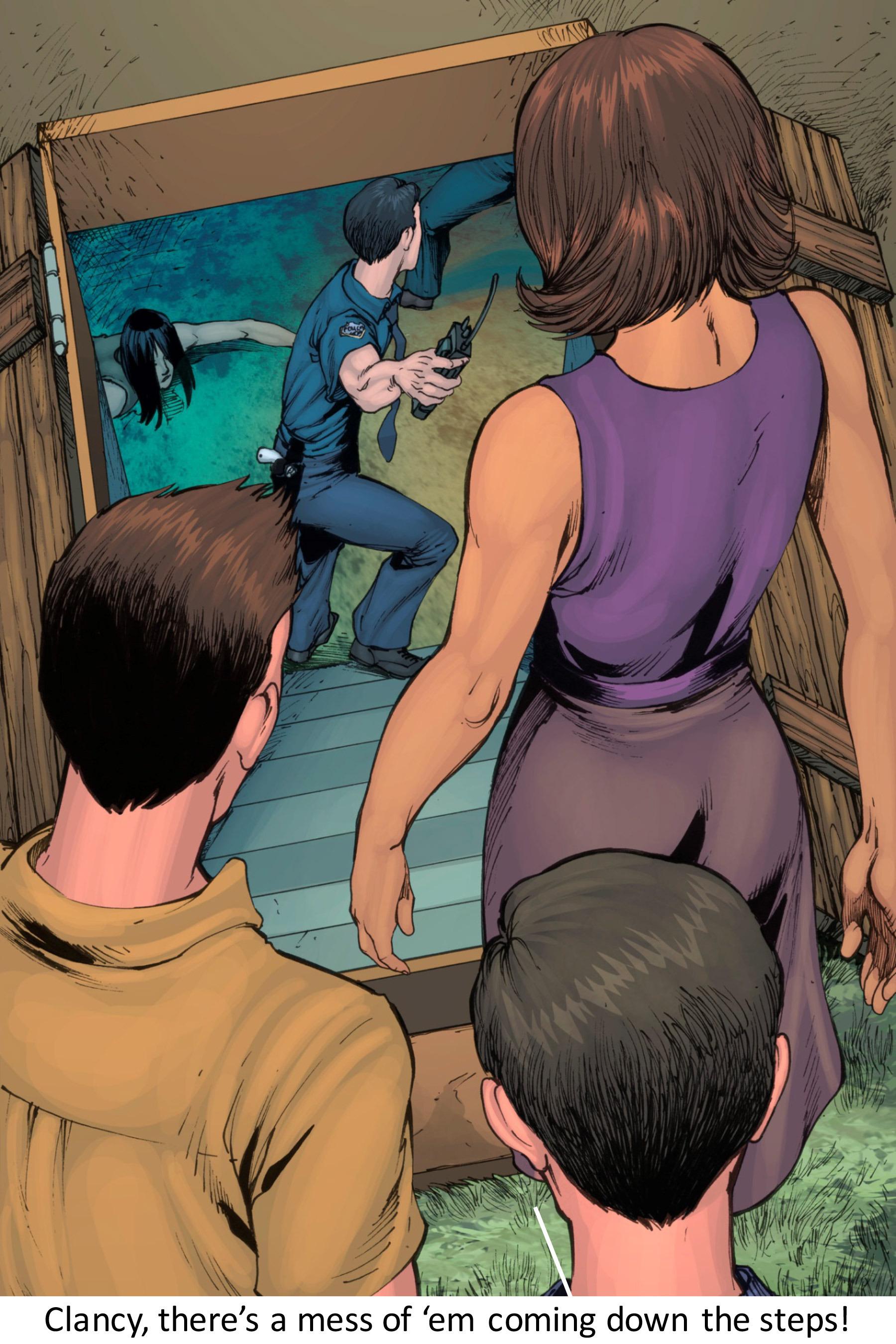 Read online Z-Men comic -  Issue #3 - 98