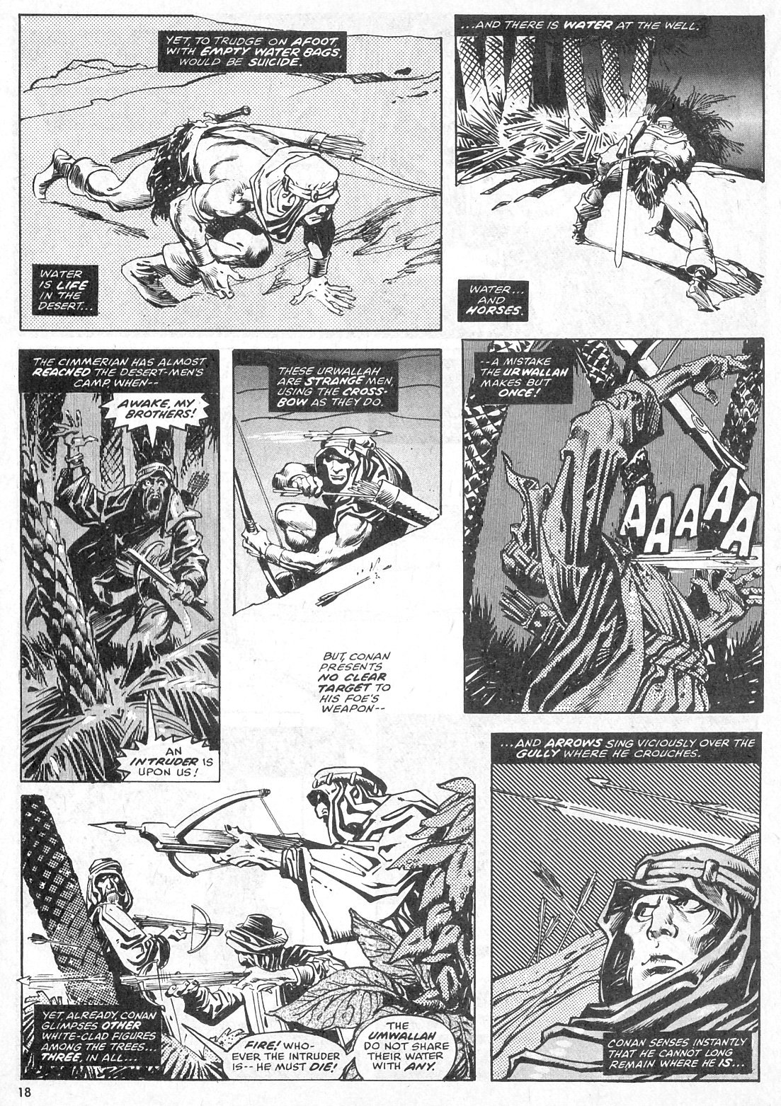 The Savage Sword Of Conan Issue #28 #29 - English 18