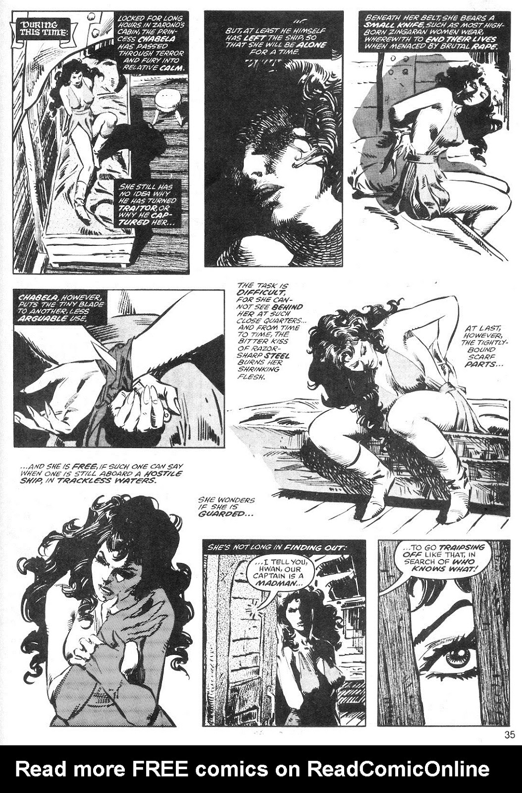 The Savage Sword Of Conan Issue #40 #41 - English 35