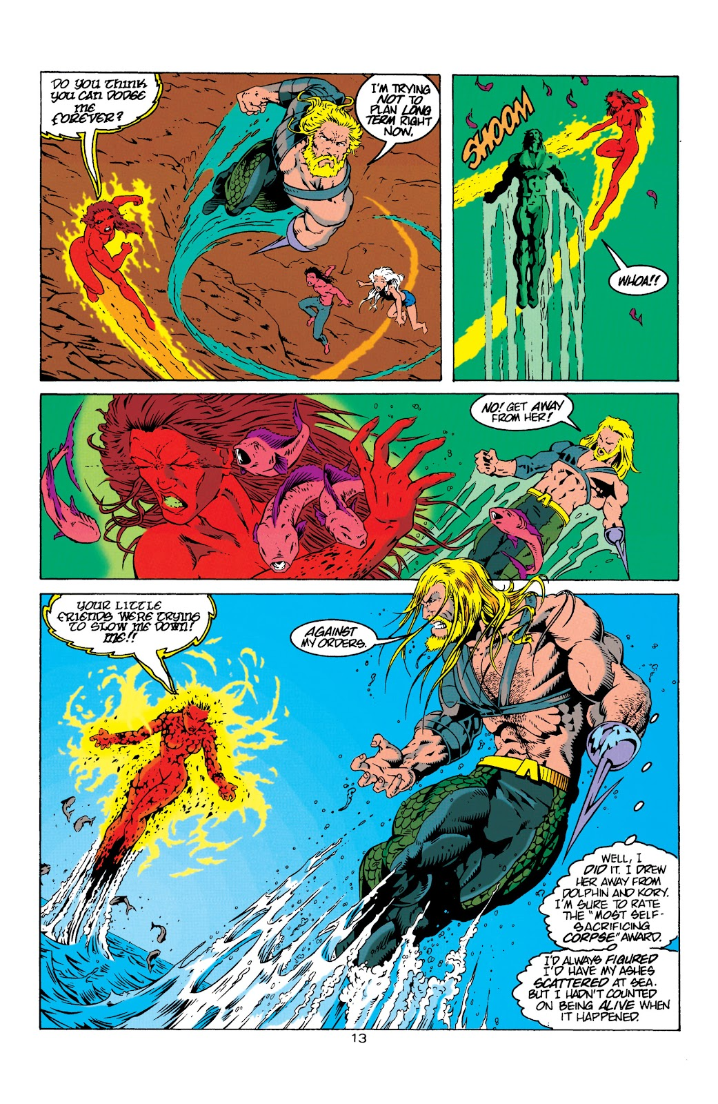 Aquaman (1994) Issue #8 #14 - English 14