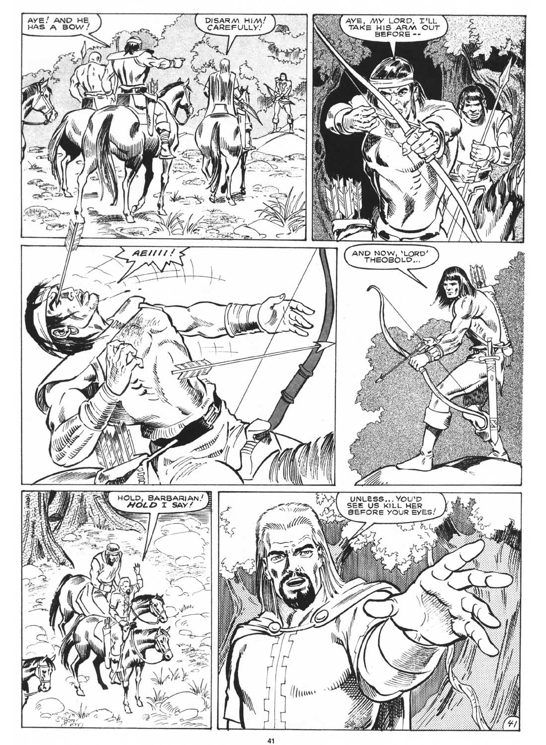 The Savage Sword Of Conan Issue #171 #172 - English 43