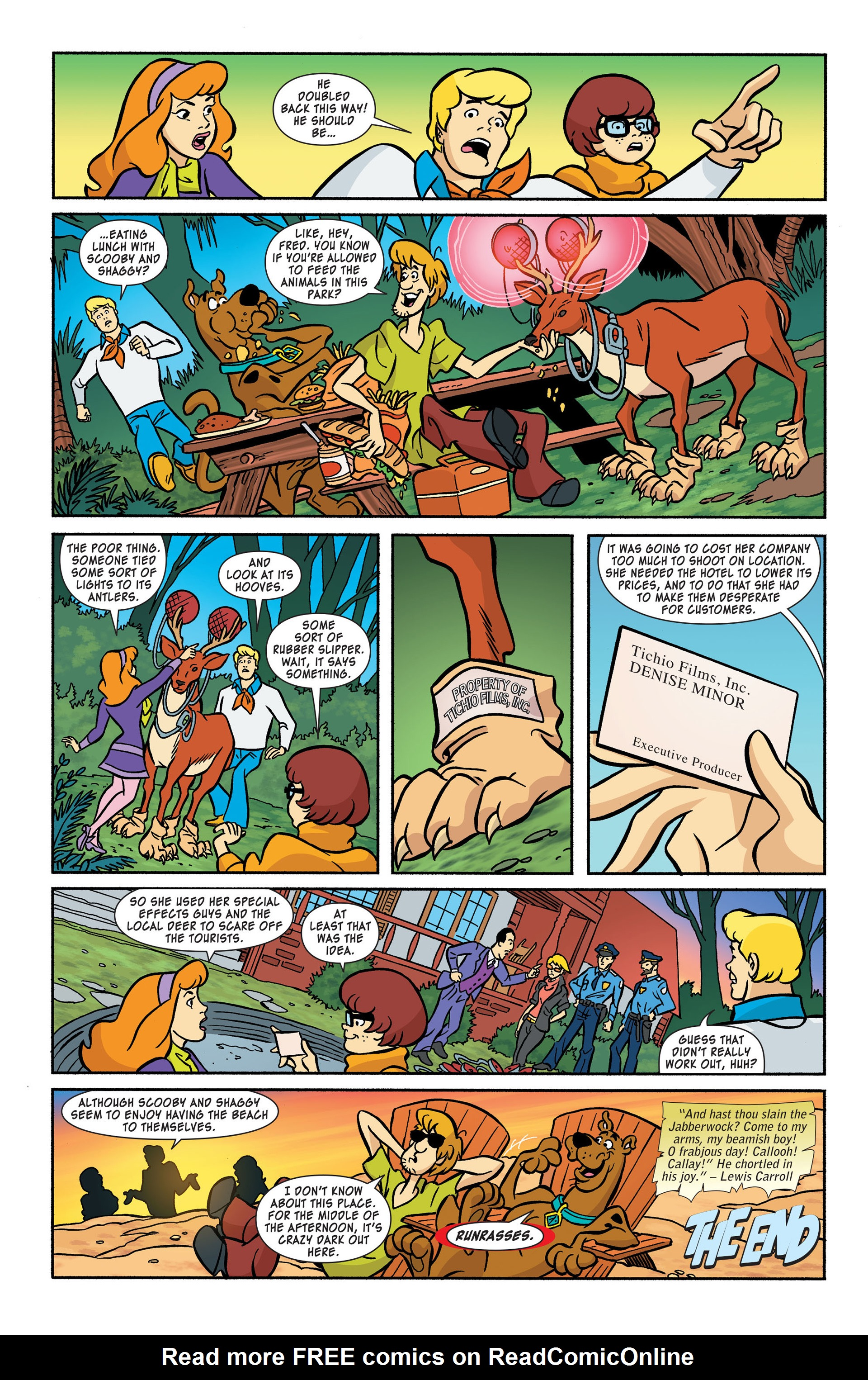 Read online Scooby-Doo: Where Are You? comic -  Issue #44 - 11