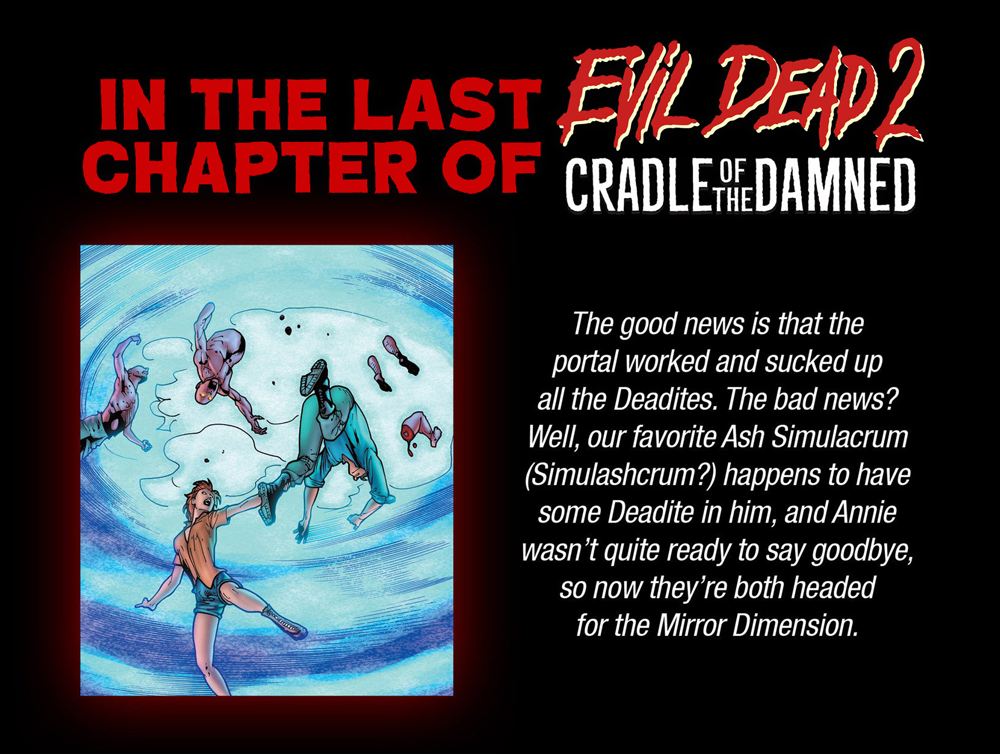 Read online Evil Dead 2: Cradle of the Damned comic -  Issue #3 - 3