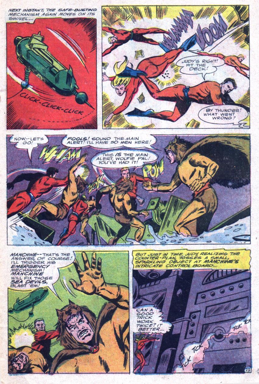Read online Sea Devils comic -  Issue #33 - 32