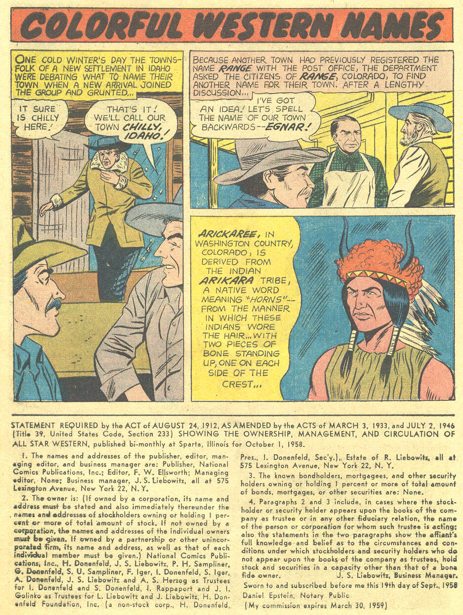 Read online All-Star Western (1951) comic -  Issue #105 - 24