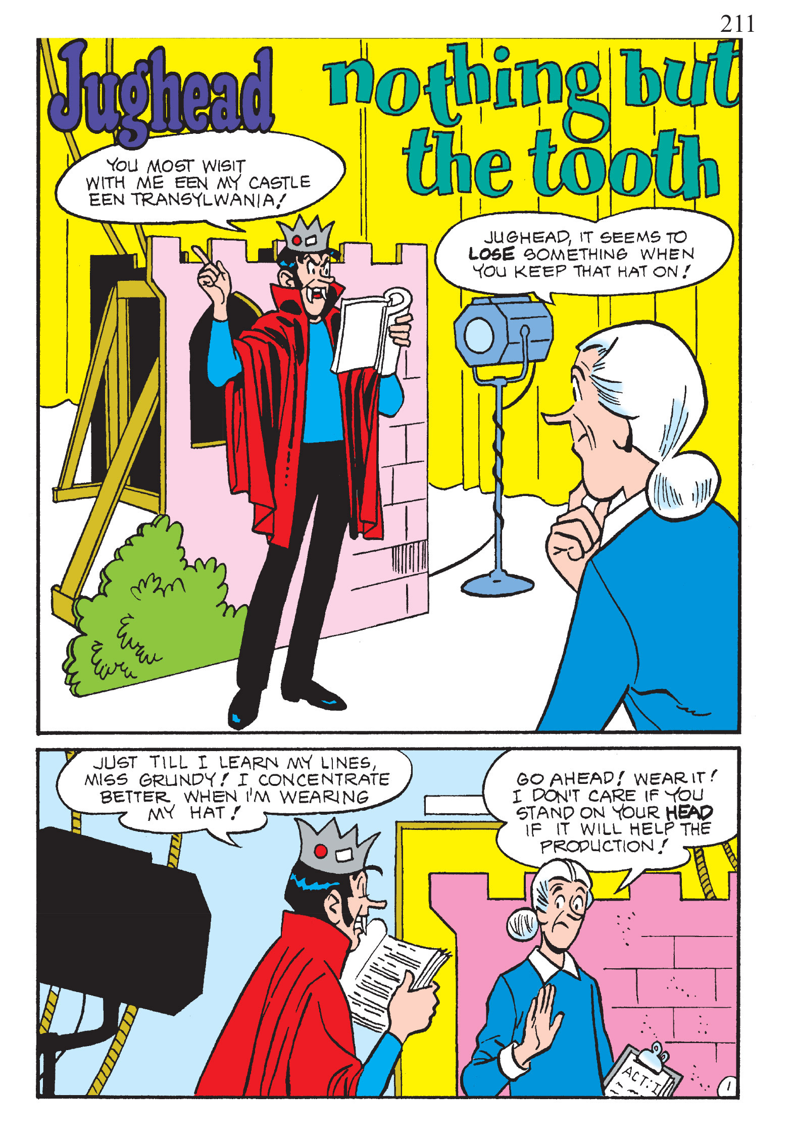Read online The Best of Archie Comics comic -  Issue # TPB 2 (Part 1) - 213