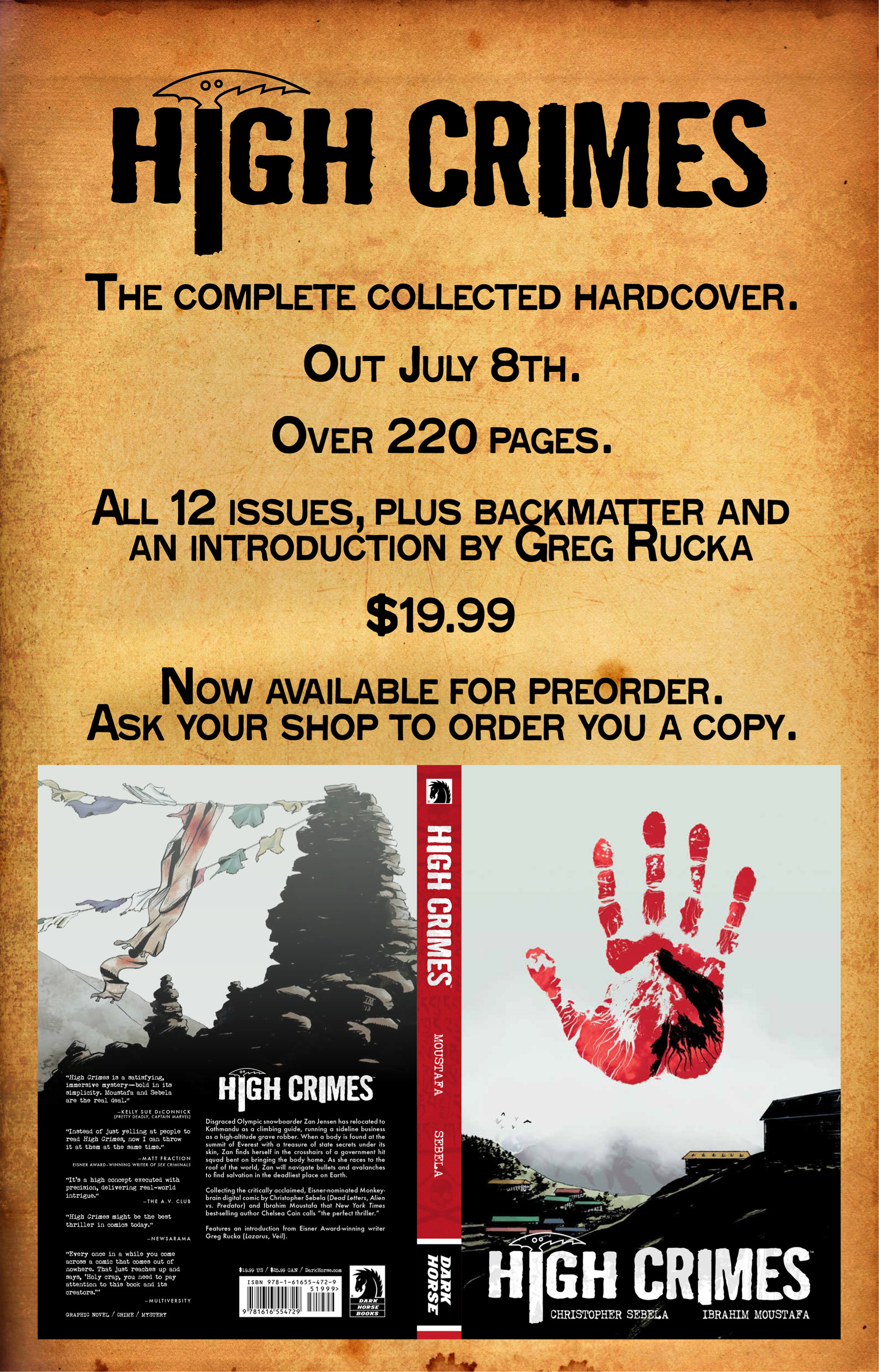 Read online High Crimes comic -  Issue #10 - 20