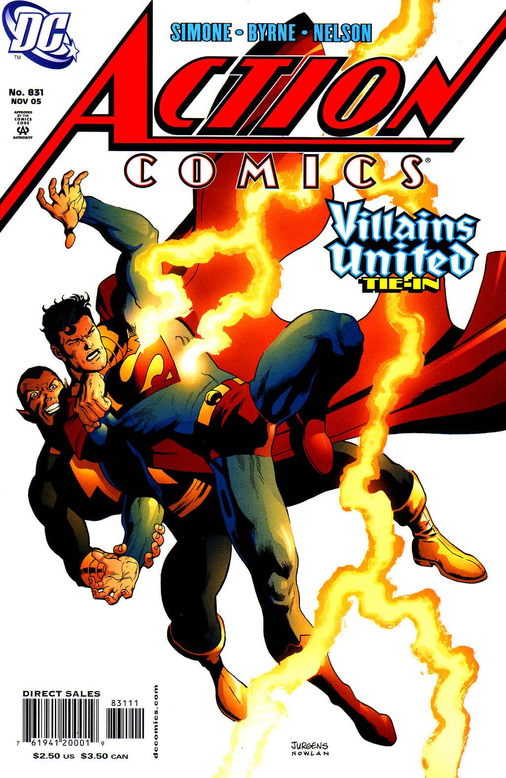 Action Comics (1938) 831 Page 1
