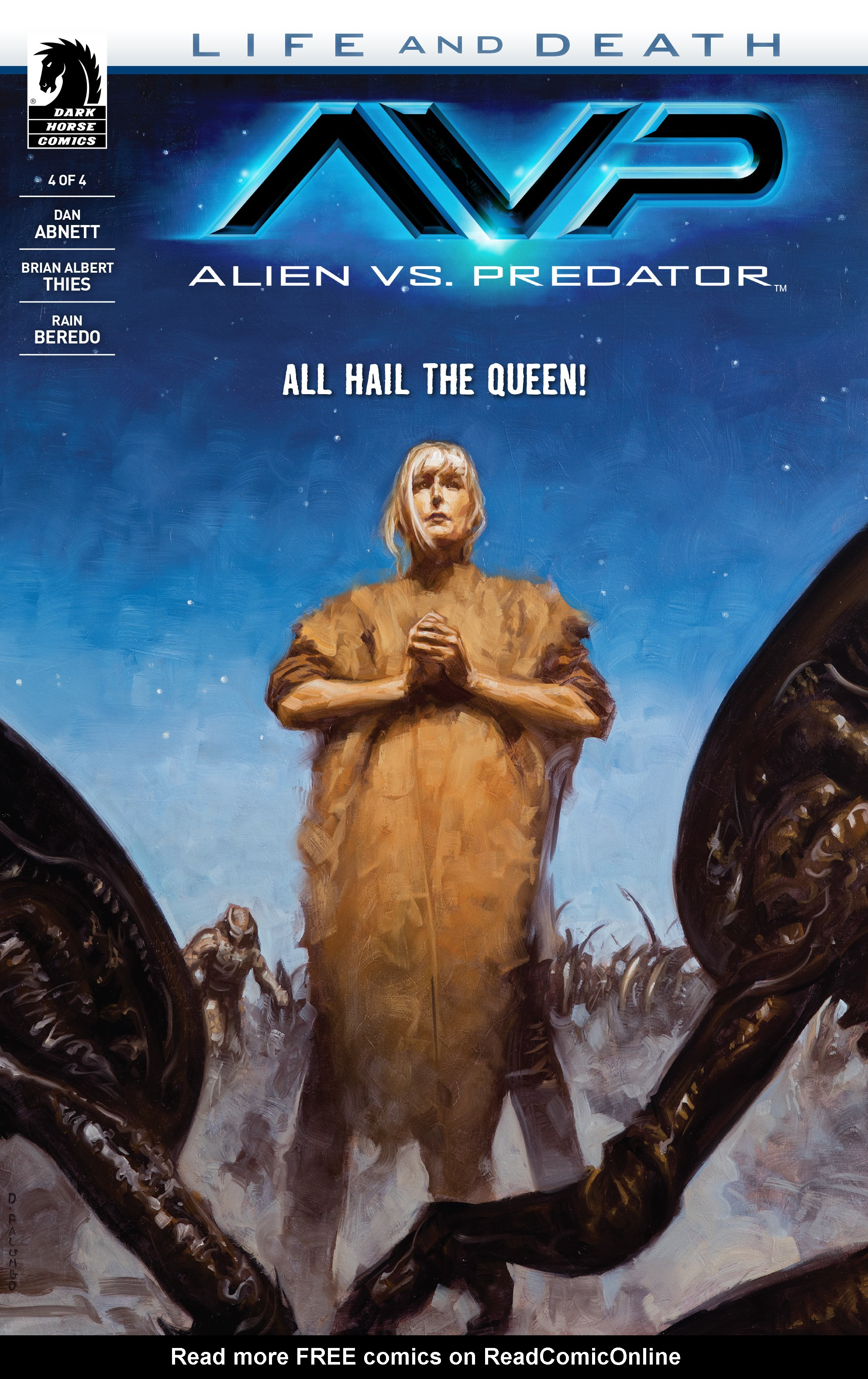 Alien Vs. Predator: Life and Death 4 Page 1