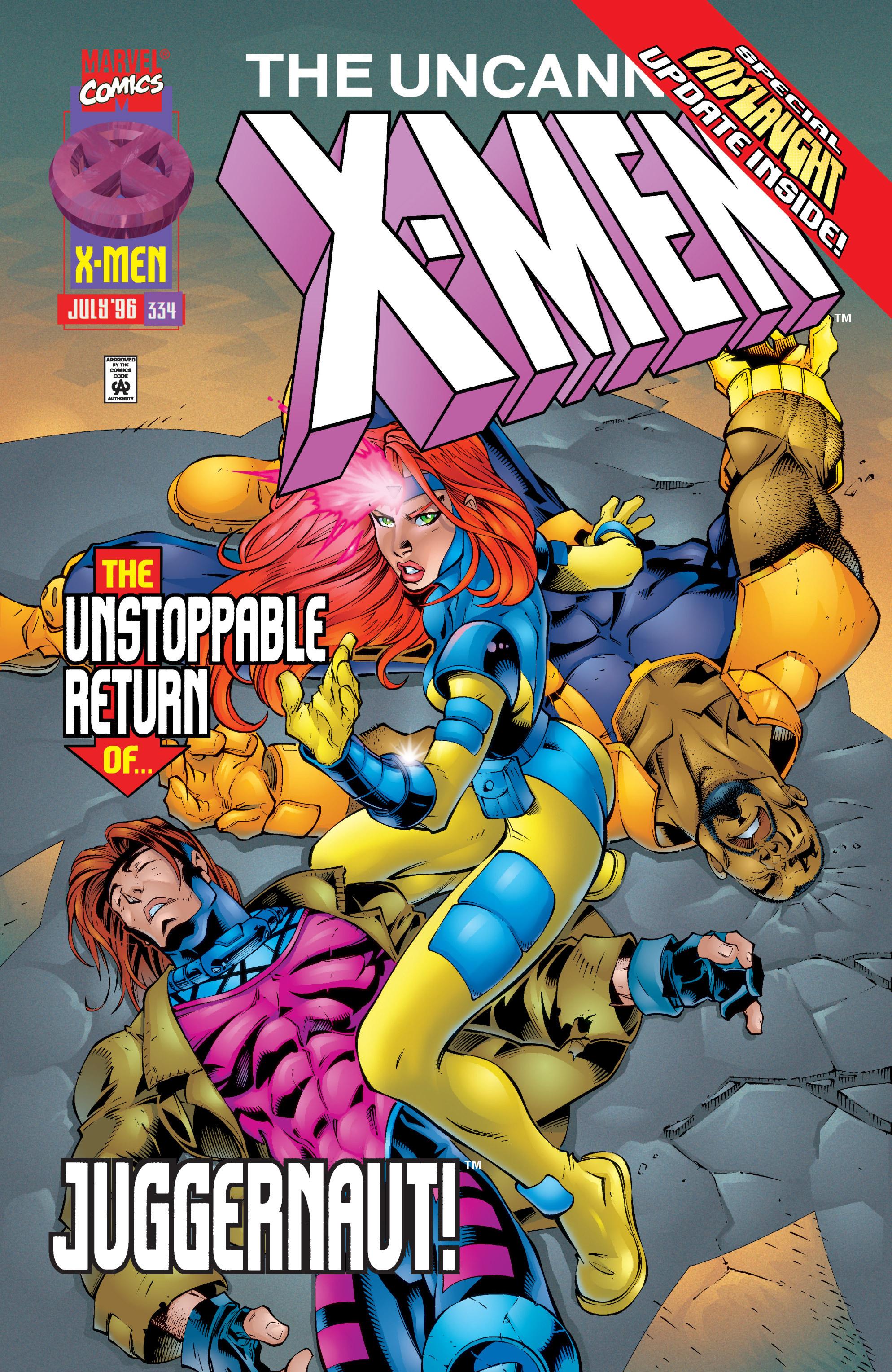 Uncanny X-Men (1963) 334 Page 1