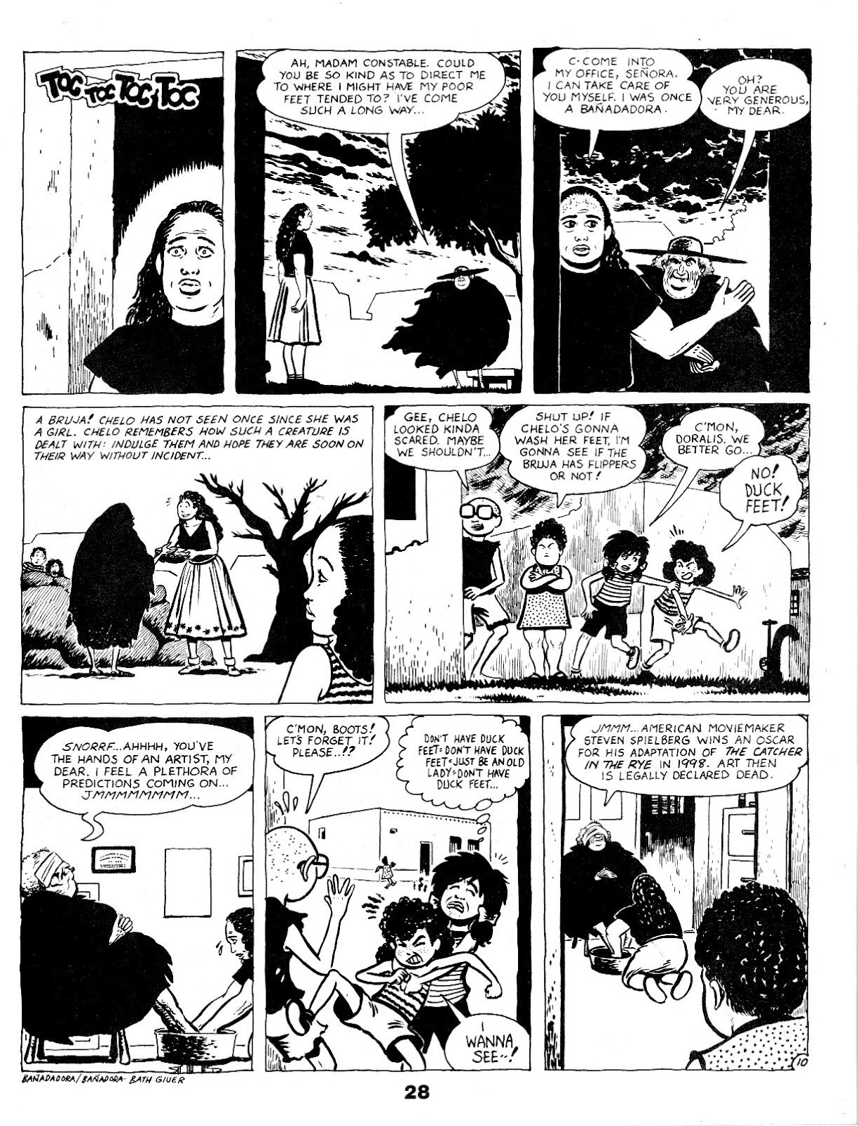Love and Rockets (1982) Issue #17 #16 - English 30