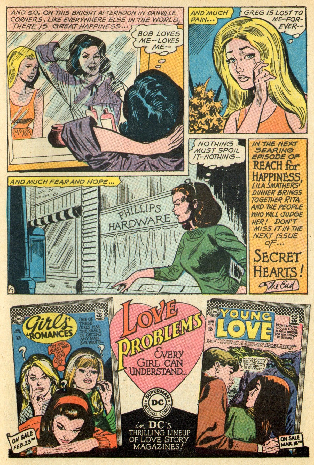 Read online Secret Hearts comic -  Issue #119 - 33