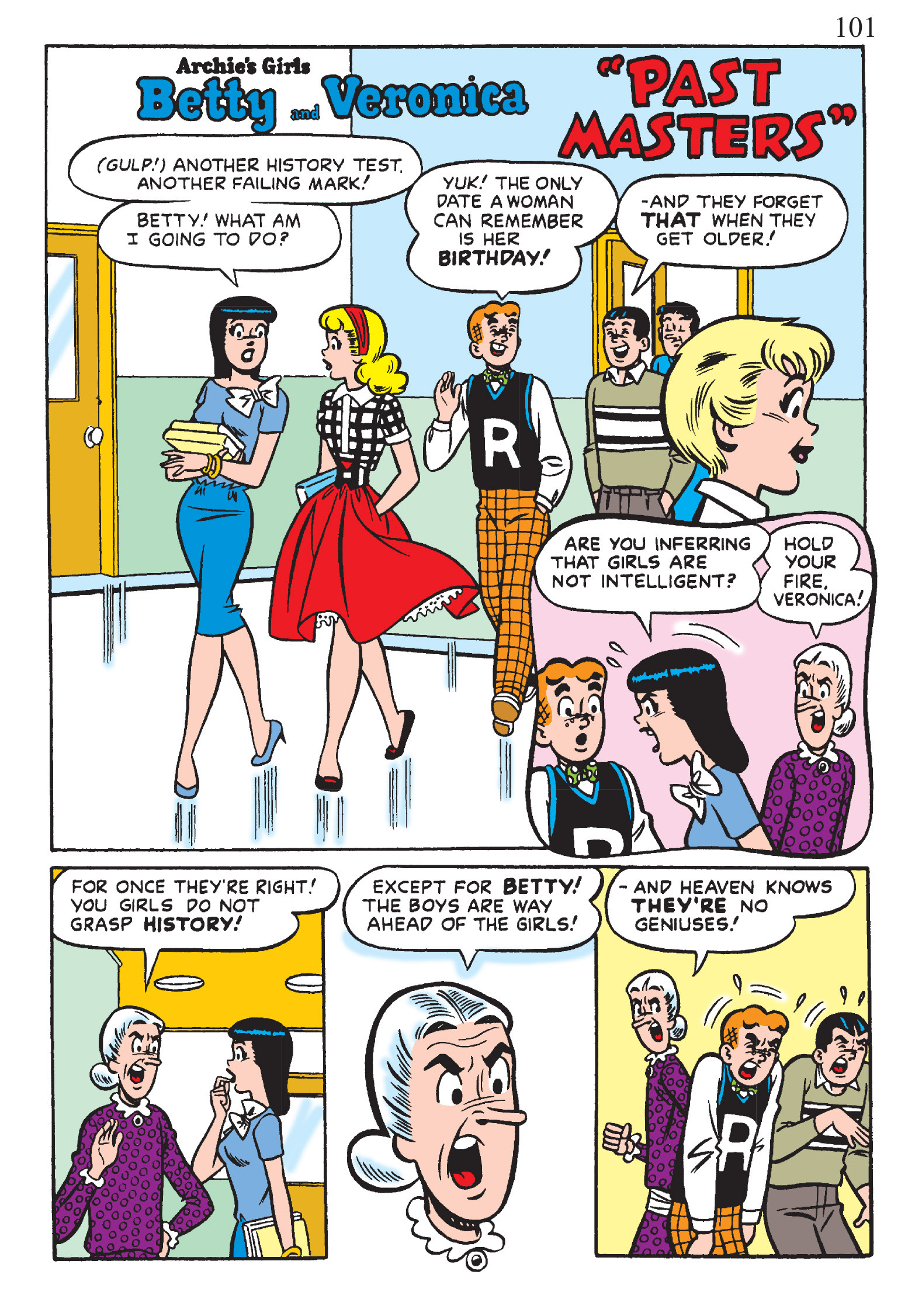 Read online The Best of Archie Comics comic -  Issue # TPB 1 (Part 1) - 99