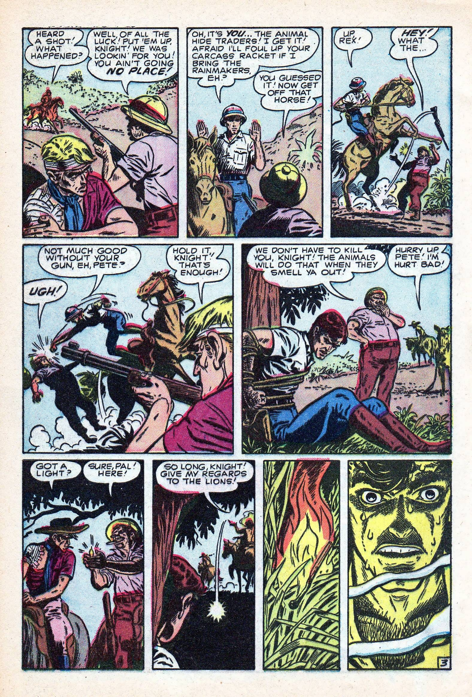 Read online Lorna, The Jungle Queen comic -  Issue #3 - 28