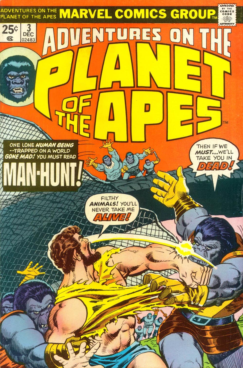 Adventures on the Planet of the Apes 3 Page 1