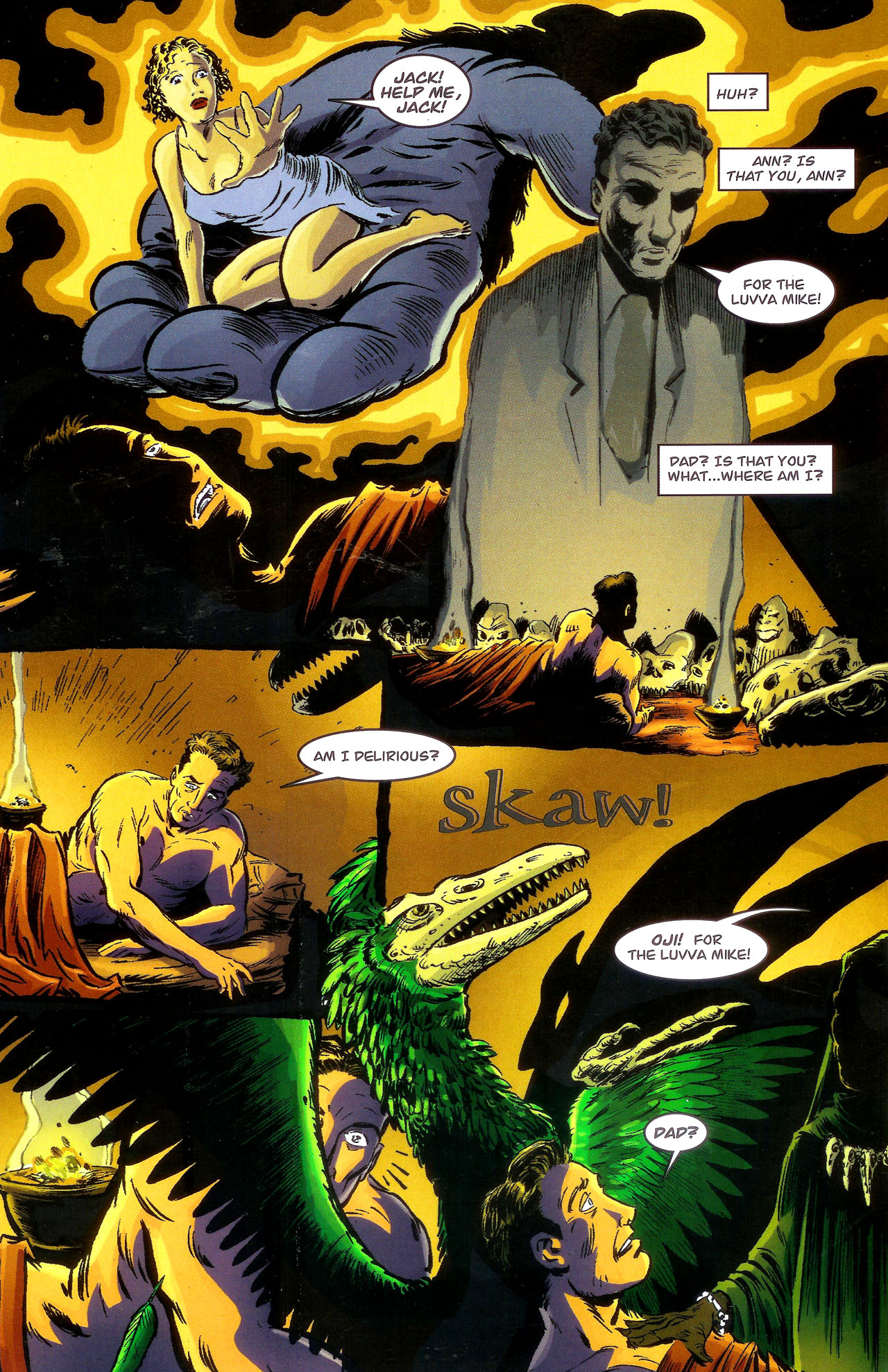 Read online Kong: King Of Skull Island comic -  Issue #1 - 20